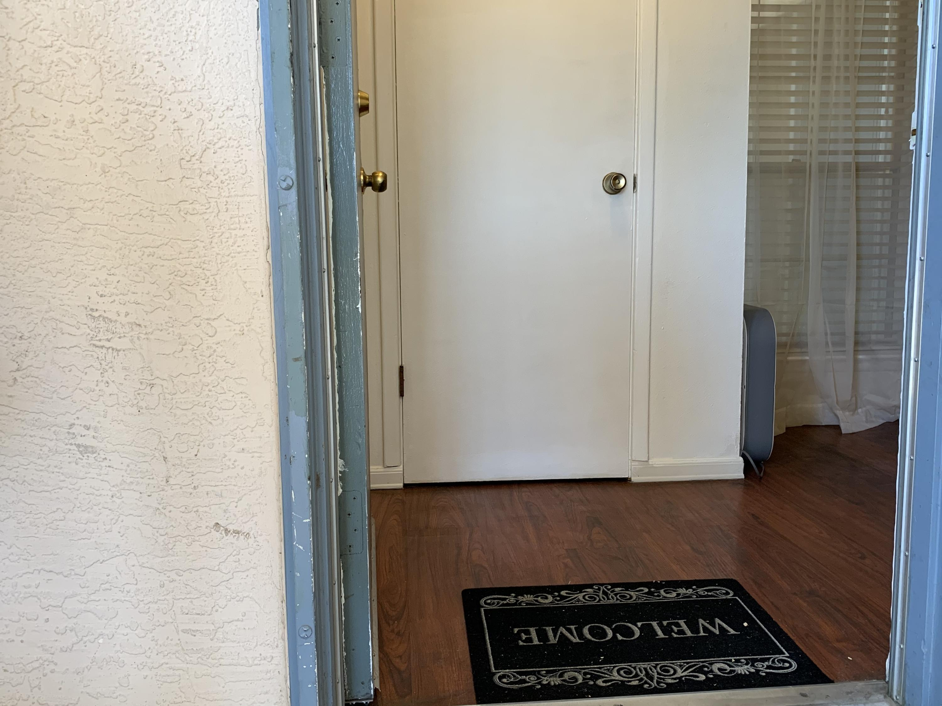 Active and back on the market!  Spacious one-bedroom condo on ground level with private patio.  Features include galley kitchen, living room, dining room, bedroom and full bath.