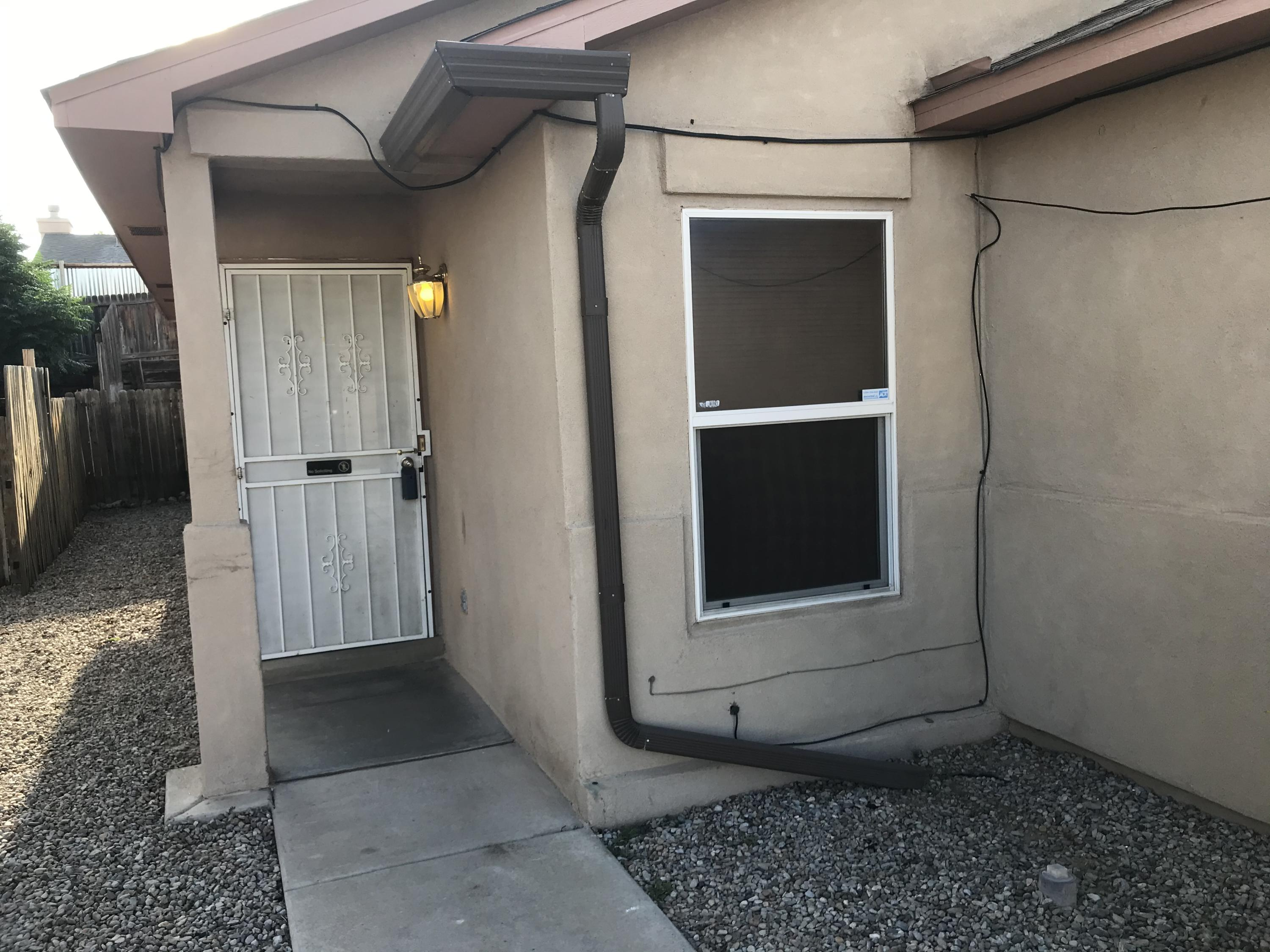 Nice update on this home in Southwest Albuquerque -- Ready for you!  This beauty is in a quiet neighborhood within walking distance to an amazing park with tennis courts.  There is fresh paint throughout the home. Open living space and 2-car garage make this the perfect place to call home. Low maintenance landscaping gives time to enjoy life and ''down time''.  Home has been professionally ''fogged''. Stucco repair coloration still in process -- please be patient.   Please observe COVID-19 safety​​‌​​​​‌​​‌‌​‌‌‌​​‌‌​‌‌‌​​‌‌​‌‌‌ procedures.