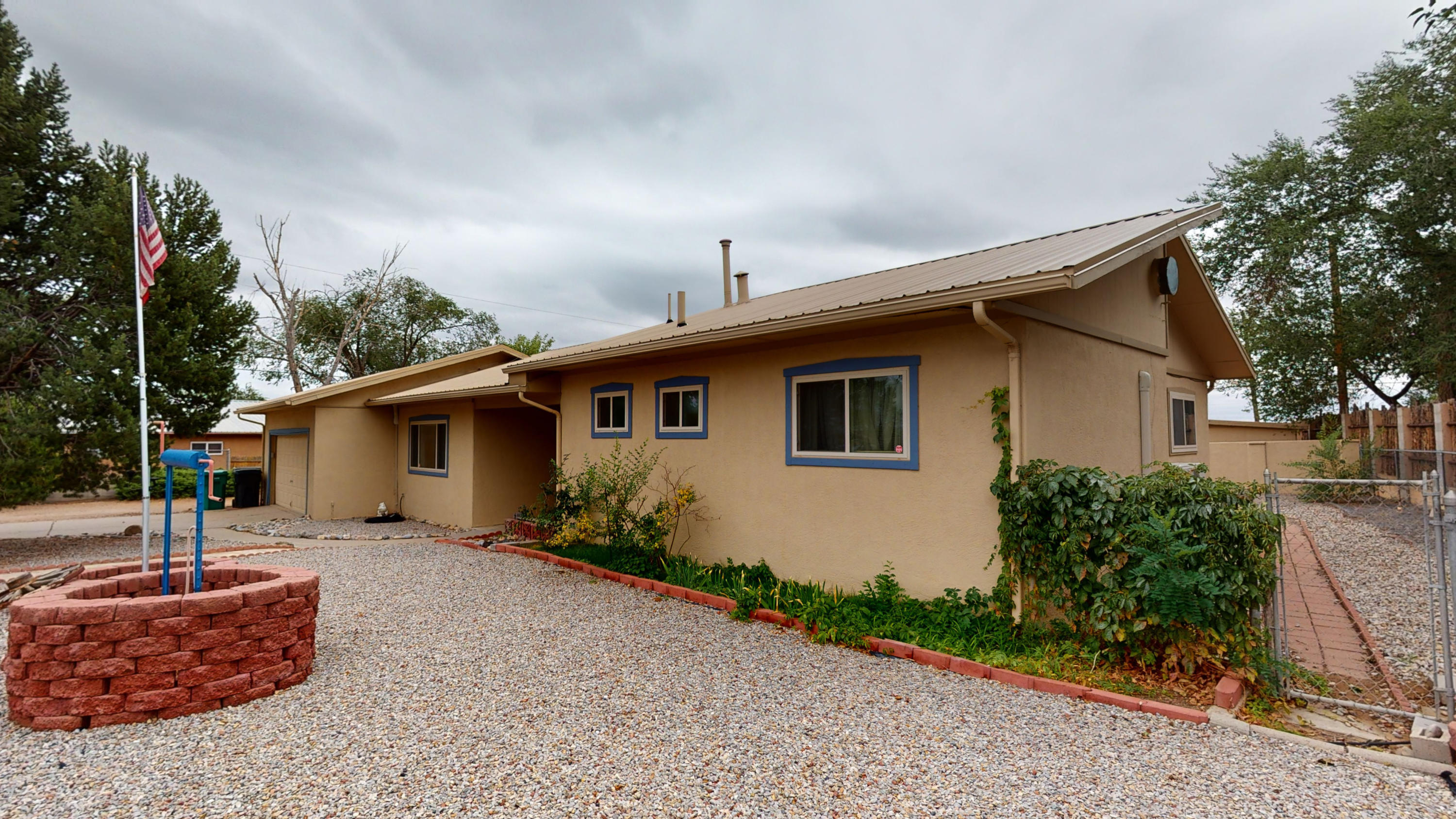 Move-In Ready One Story Home on 1/2 an Acre  with a Country Feel, but Right Next to All of the City Conveniences!  This Home Has Back Lot Access w/ a 10' Gate and RV Hookups!  The Home Offers 2 Living Areas, a Large Kitchen w/ Abundant Cabinet and Counter Space, Laundry Room, 3 Large Bedrooms,  Covered Back Patio and 2 Sheds!  Upgrades Include a Metal Roof,  Pro-Panel Fence in the Back, Fenced and Gated in the Front, Mitsubishi Ductless A/C and Heating Units  in Each Room, New Electrical and 220 in the Garage! Zoned for Horses and Large Animals!  Hard to Find in the City and is a Must See!