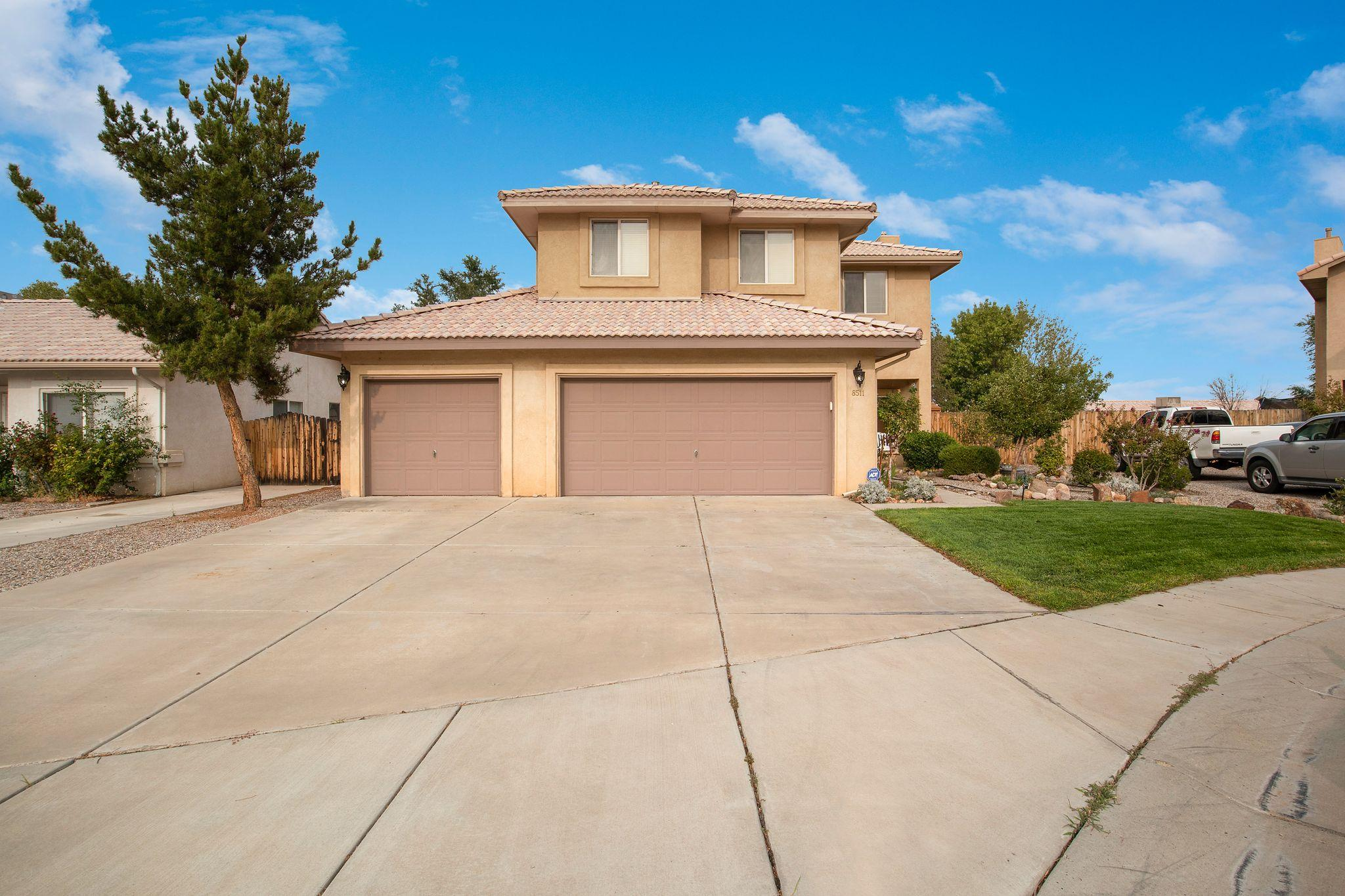 Tucked away in the Buena Vista Estates Subdivision is this beautiful gem! Boasting a lovely 4 bedroom, 2.5 bath floor plan, the home is located on a cul-de-sac within the La Cueva and Desert Ridge school districts. This home checks the boxes, come make it your new home before it's gone!!