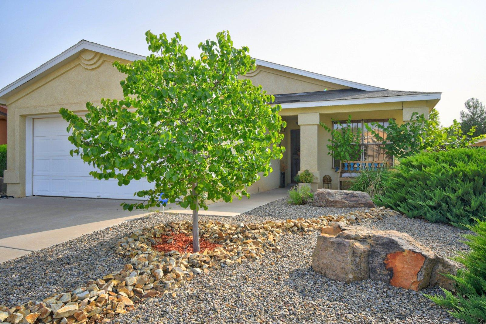 Nestled on a cul de sac street in a much sought after neighborhood. This is a gem of a house!  Featuring a bright, open floorplan, single story and 4 bedrooms.               All appliances stay.  A private backyard that is a gardener's delight.