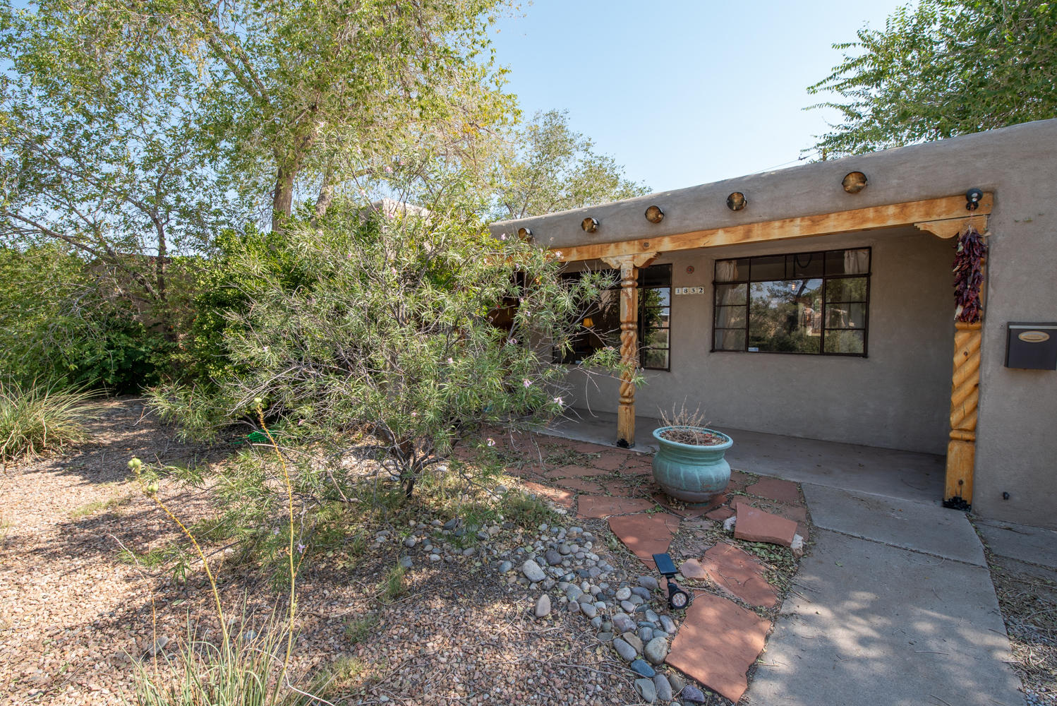 OPEN HOUSE - Saturday 12:00 to 4:30 and Sunday 1:30- 3:30. Great location close to Uptown, Coronado and I-40! Charming single story home with wood floors, fireplace and a large backyard. Two living area including a large family room with fireplace. Spacious light filled kitchen with oversized skylight. TPO roof installed in 2014 with a 10 year warranty. All appliances stay so you can move right in!