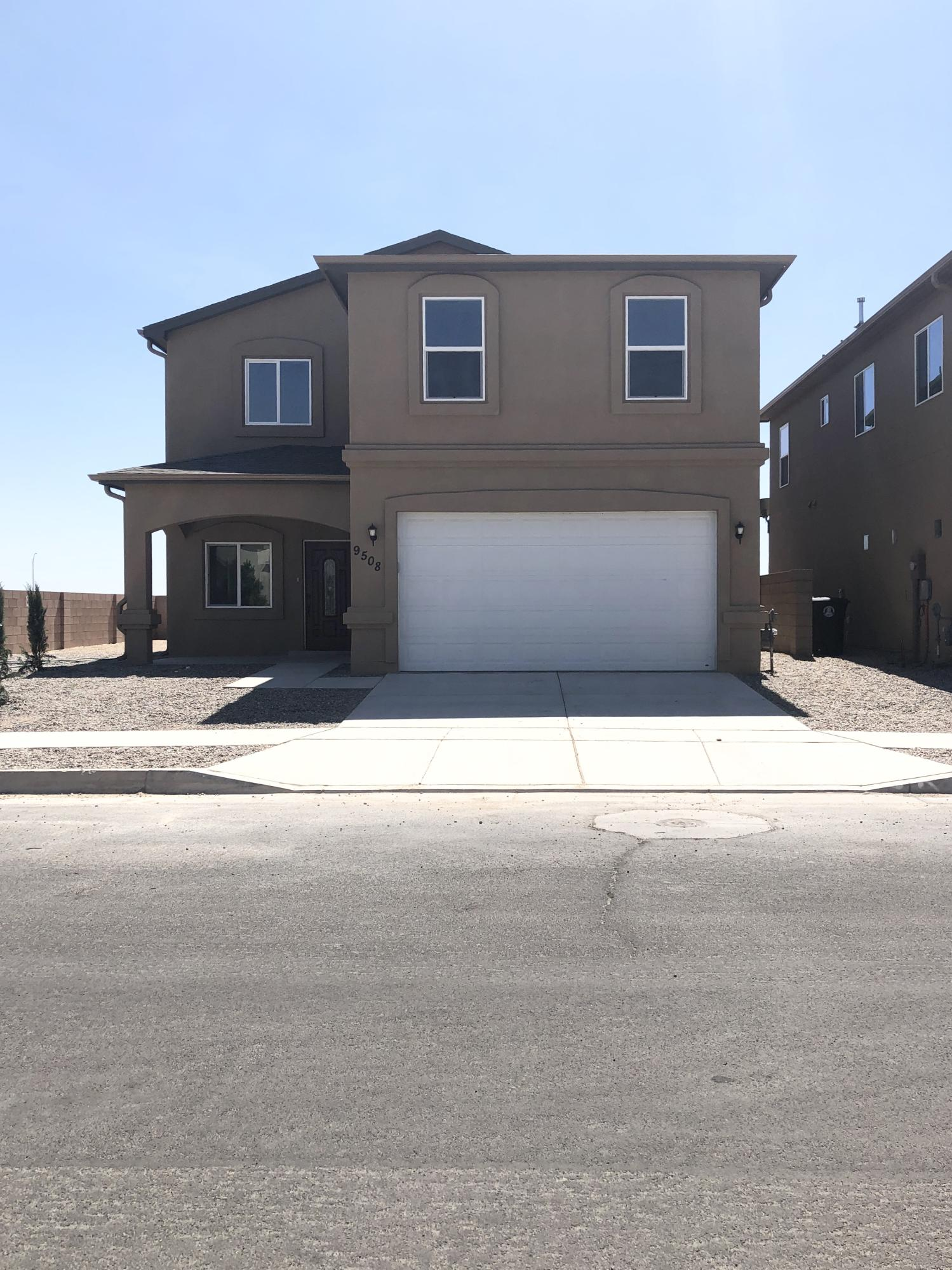 NEW CONSTRUCTION! Beautifull 2 story home established on a popular neighborhood. Bright and open floor plan, stainless steel appliances, custom tile, granite counter tops.