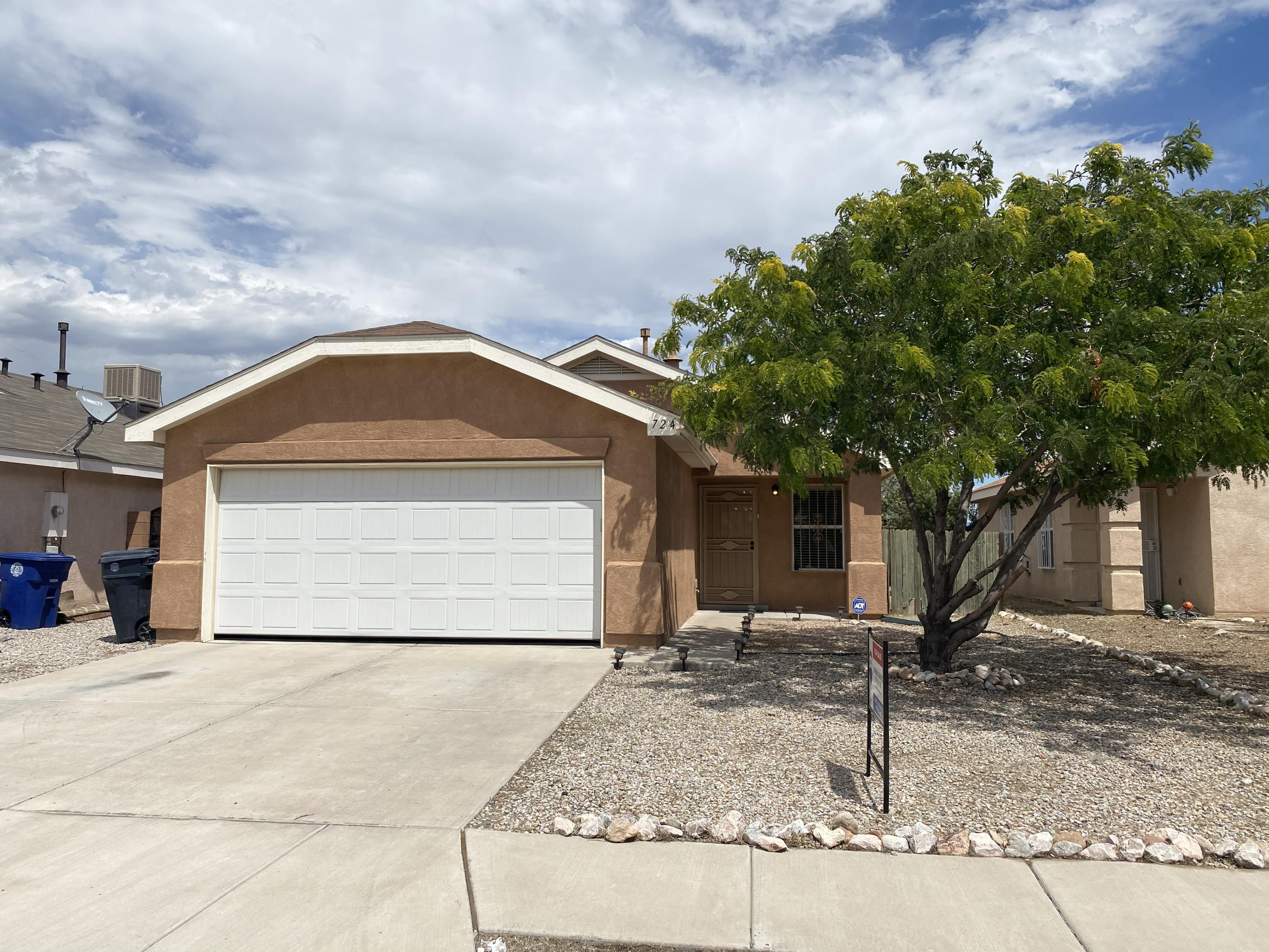 Beautiful property with a brand new roof and a transferable warranty looking for a new owner!  This house features a very livable floor plan with two spacious bedrooms and two full bathrooms.  Come take a look at this great property, it will not last long!