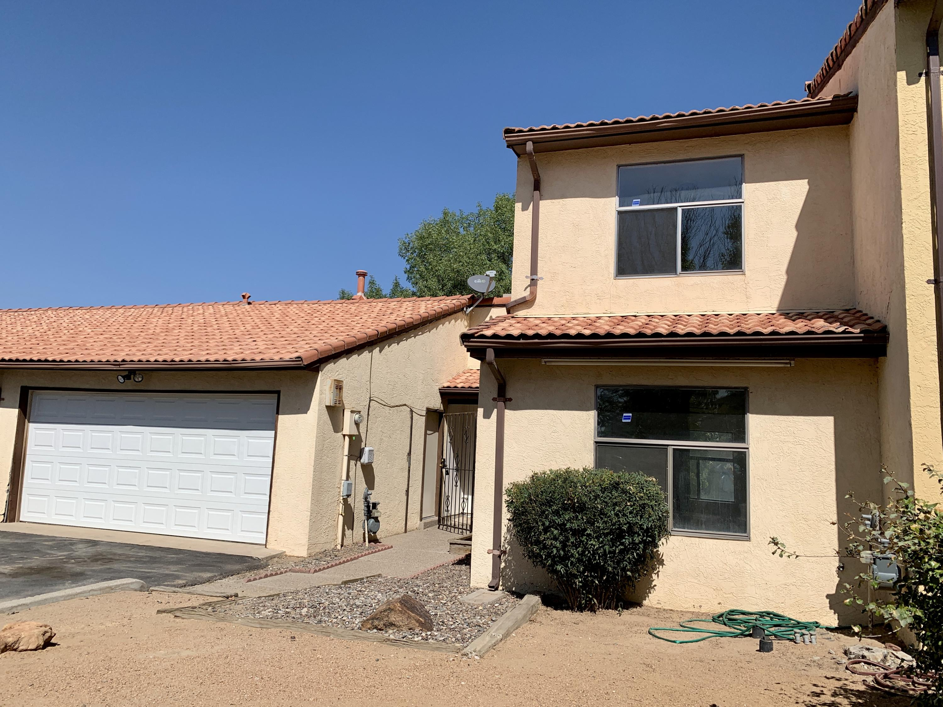 This property is priced to sell!  It does need some paint, carpet and some repairs.  Brokers, please review LO/SO remarks. This Town home is located next to Ladera Golf Course, has a Spanish tile roof, washer & dryer hookups, a gated front entrance, back patio and is fully fenced.