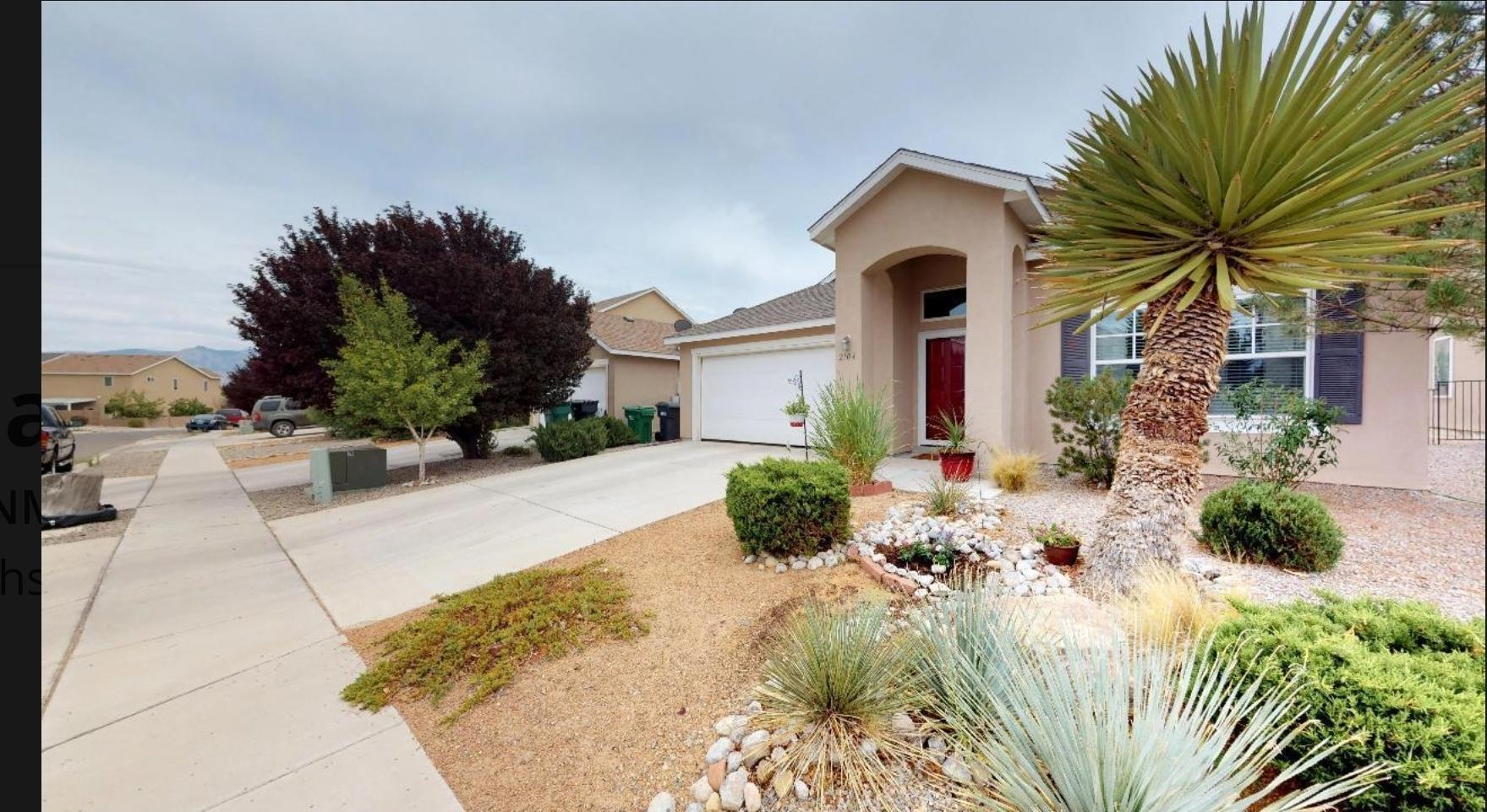 : Welcome to one of the most sought after subdivisios in Rio Rancho. Cabezon is known for the great schools, lovely parks, and convent accessto shopping and entertainment. With a clean and fresh appeal, this home almost looks new. Newer flooring, updated kitchen, large master bedroom,2 walk-inclosets, and a separate garden tub in the master bath. Two additional spacious bedrooms, and plenty of space in the guest bath. Gas fireplace for atmosphere,along with natural gas grill connections on back patio. Fresh and ready for you to move in, schedule your privet showing today and come see this beautifulspacious home to get the full experience!