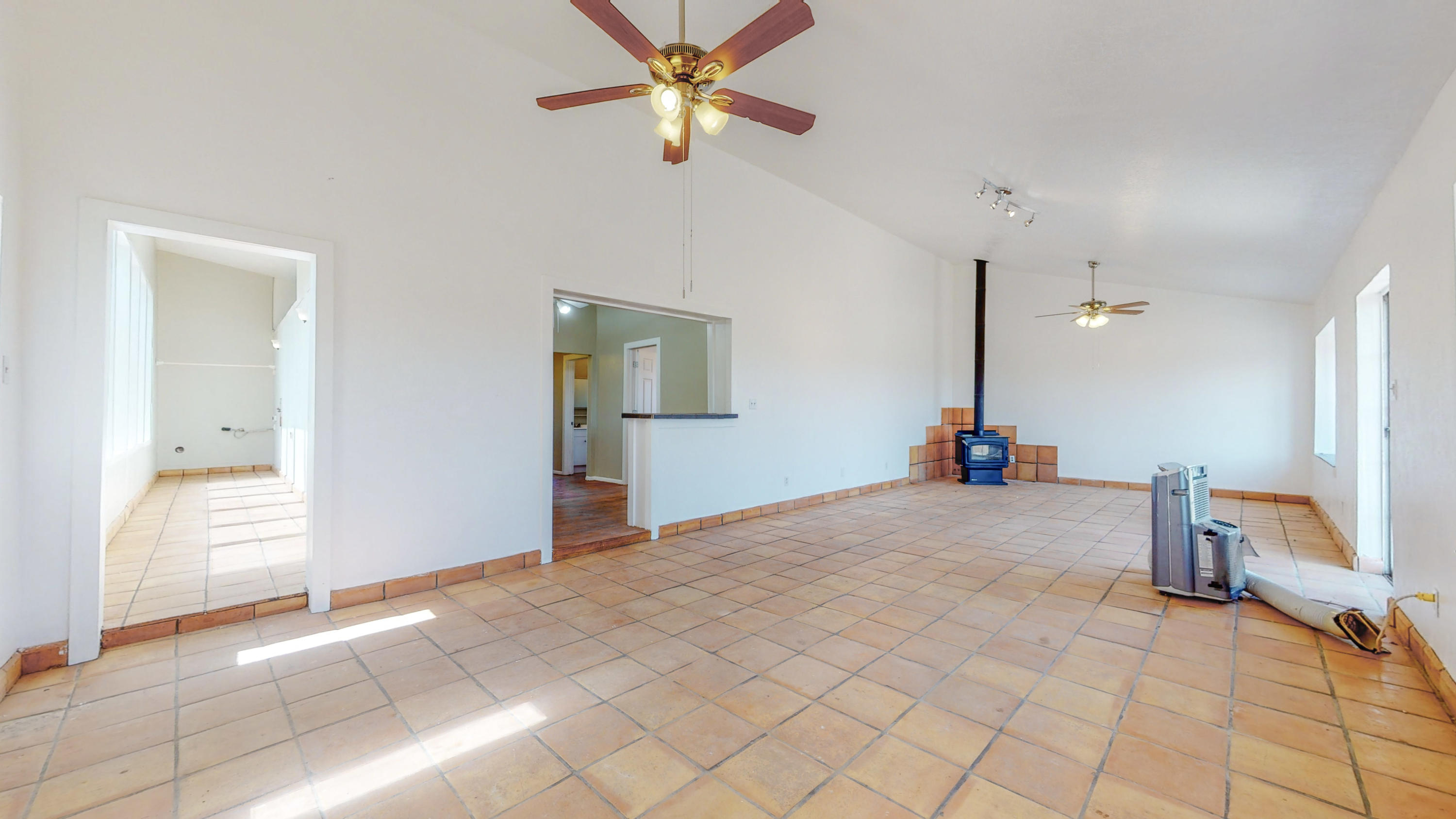 **We have an accepted offer with a 72 hour first right of refusal** Nice updated country home with views for miles. Enjoy our NM sunrises and sunsets, without leaving your home.  Sunroom off dining area, original wood flooring throughout with Saltillo tile in dining/living area, sunroom/laundry area, and master bath areas.  Fenced back yard. Fenced property with a 12'x12' metal run in. 12'x12' metal run in with one end covered that could easily be made into small pen or chicken coop. 25'x30' carport with high ceiling, concrete floor and electric. 13'x18'5'' garage/shed/workshop area. 8-10 minutes to Moriarty,16-18 minutes into Edgewood and approximately 30-35 minutes to Albuquerque.