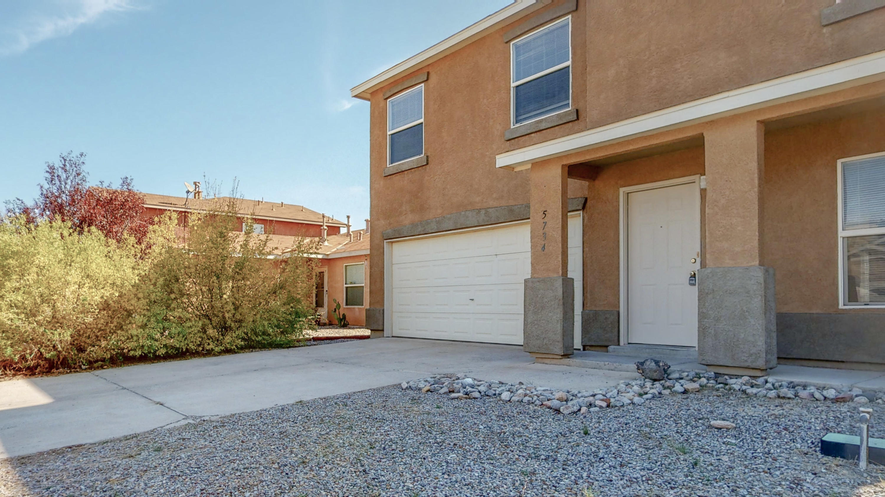 Move in Ready 4BR/2.5BTH Home in Enchanted Hills.  This home is very spacious at 2573 Square Feet!  Additional features include:**2 living areas with open concept kitchen**Kitchen island**Fresh paint throughout.**All new carpet and pad**Huge master bedroom with walk in closet**Dual sinks in master bath along with separate tub and shower**Refrigerated air conditioning and central gas heat**This home is in the Rio Rancho school district and offers an EZ commute to Santa Fe and Albuquerque....Welcome Home!