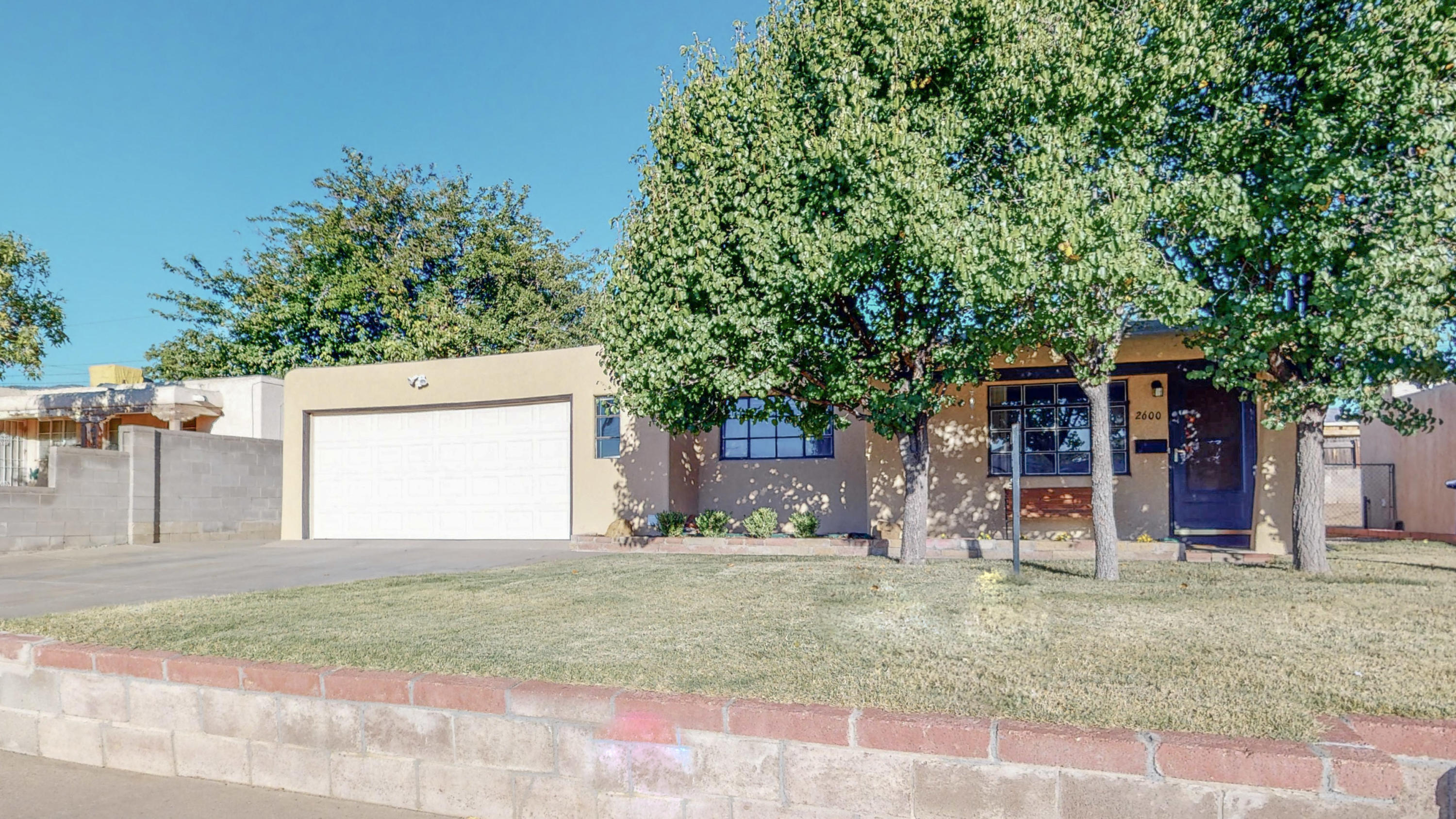 Nice 4 bedroom home with 2 large living rooms in very good condition located in Albuquerque's northeast heights.  This is a great price on this large home.  Roof is about 10 years old.  This home is in move in ready condition.  Put this on your list of must see homes.