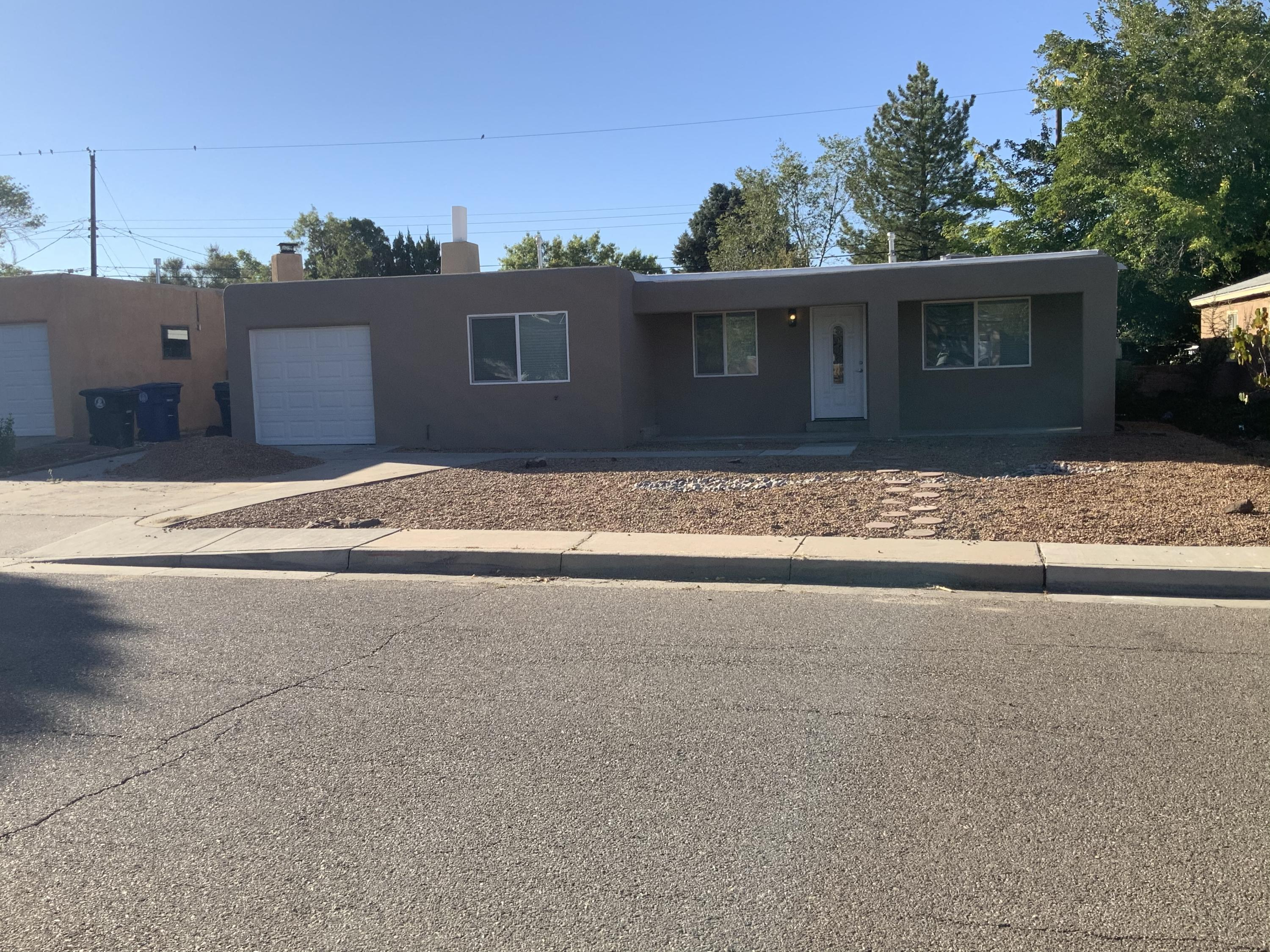 Another amazing remodel by Rio Grande!  EVERYTHING in this home has been freshly updated and it is ready to move into today!!! Very modern, contemporary colors and style throughout. NEW: TPO Roof, Windows, Water Heater, Synthetic Stucco, HVAC, Paint, Stainless Appliance Package, Electrical & Plumbing Fixtures, Hardware &Ceiling Fans.  There is nothing in this home left to do but move in!  Come see this new one today, it will not last long.