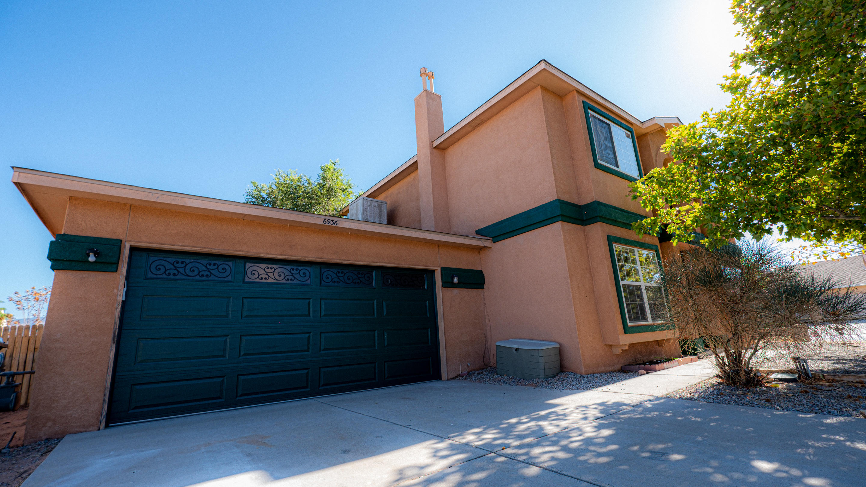 Beautiful 2 story 3 bed 3 bath home in Rio Rancho sitting on a hill with incredible views of the Sandia mountains to enjoy the sunrise and sunsets.  With a big open kitchen and the backyard is left to your imagination.  Easy access from NM 550 to travel to Alb or Santa Fe.  This home has a new roof and garage door installed in the last 2 years.  New carpet and paint put in the last month.  Solar panels were put on a little over a year ago which lowers your electricity cost.  Solar panels to convey at the offered price.
