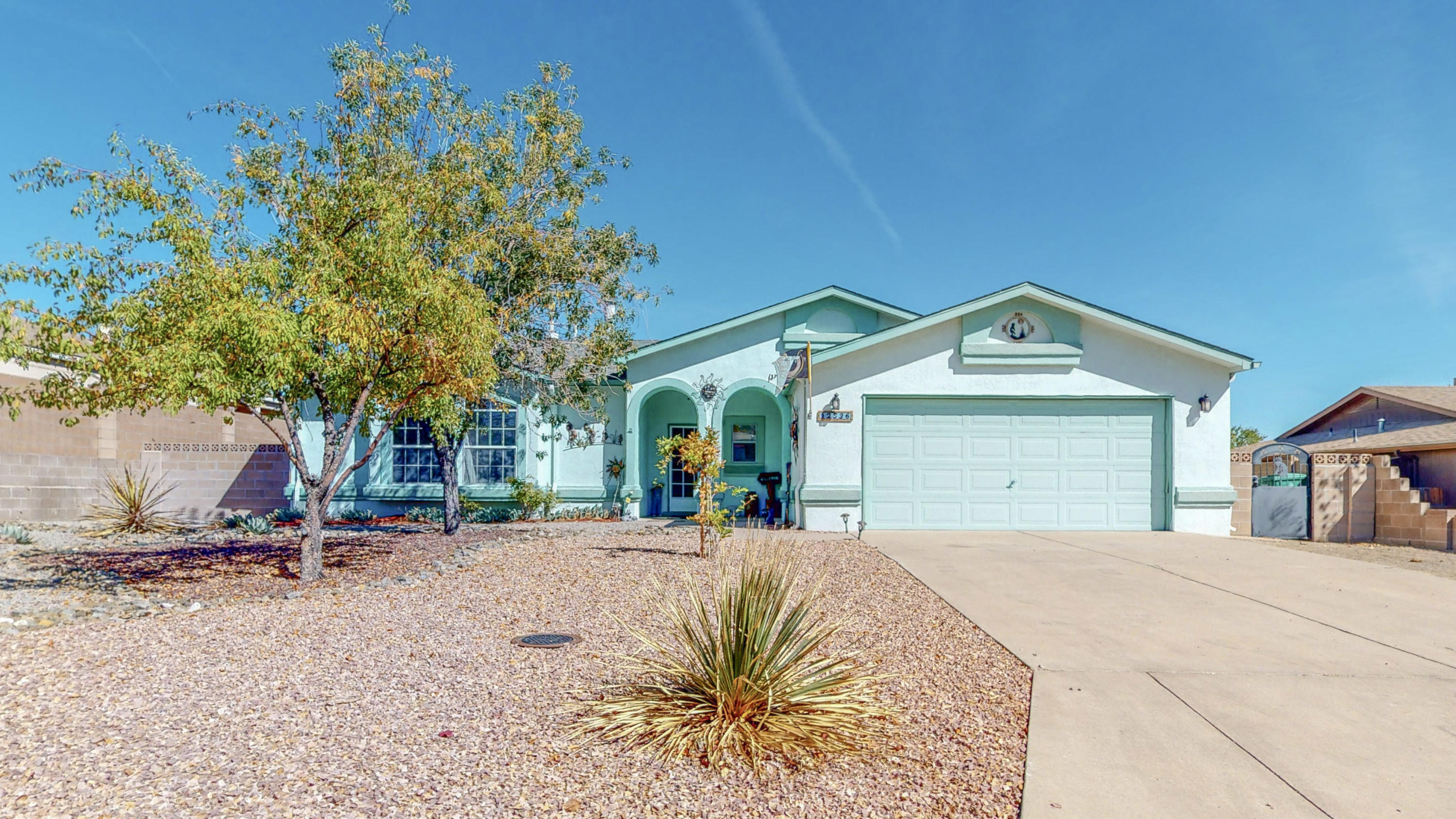 Welcome to this fantastic Pueblo style, single-story home that has million dollar views from the backyard! This very popular floor plan has been remodeled and includes new flooring, security system, video cameras, newly redone master bath and top of the line mastercool.  This home features an irrigation system with very low maintenance for the backyard. The Southwestern flair is all throughout the home and even features beautiful granite countertops! Now is your chance to make this home yours it is full of character and won't be available for long!