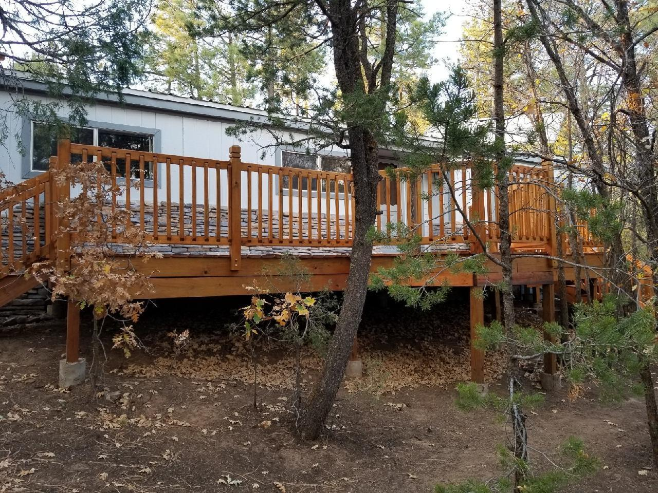 Move in Ready. Much TLC in preparation for new owner. Paved access to Private, Peaceful, Pleasant Home treed Property!