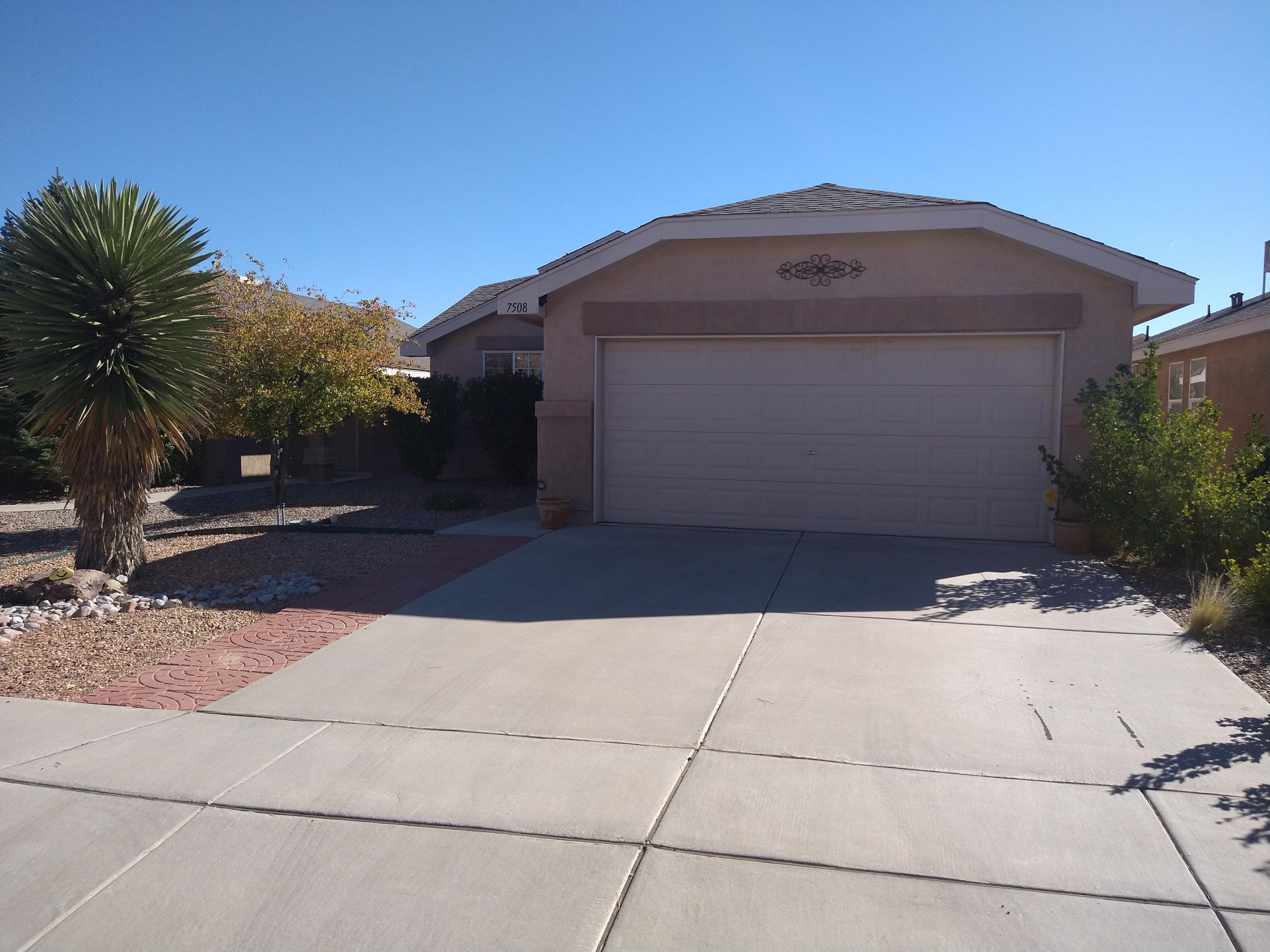 HURRY to this clean and neat single level home in a gorgeous planned community!  This well-loved home offers open spaces, arched architectural elements and cathedral ceilings.  Snuggle up this winter with friends and family before the cozy gas-log fireplace. Stay fit on the many paved walking paths throughout the community.  The 2.15 acre Pinon Point Park is just a stone's throw away!  This lush green park features a playground, picnic tables and a volleyball court. With nine public parks, a community center with inground pool and nearby schools, this is the perfect place to call home!