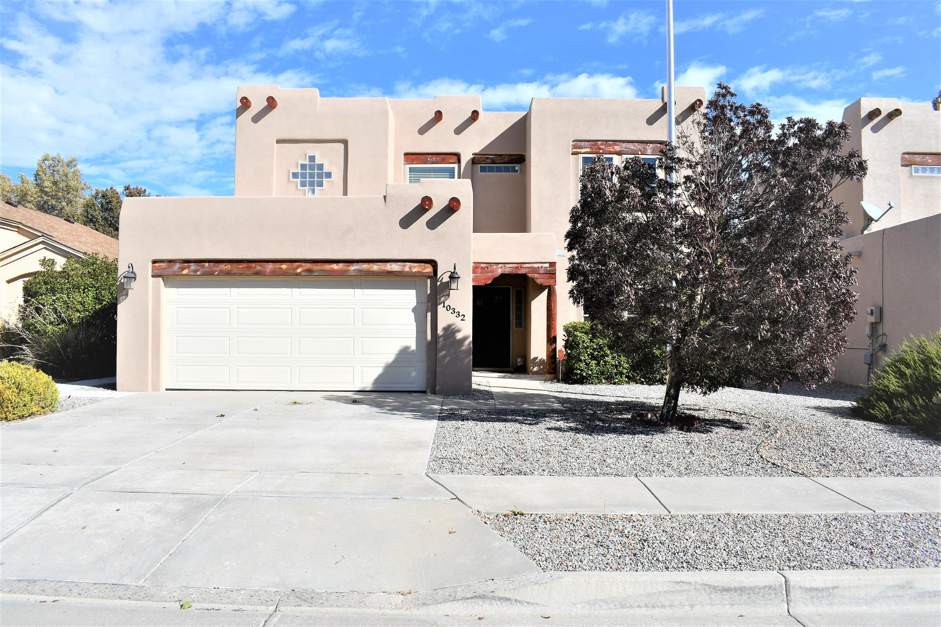 Wow! A Ventana Ranch Beauty! This home features 3 beds with an Office/bedroom 2.5 baths with so Many upgraded options such as Tile thru out, newer windows, stucco, stainless steel appliances, bamboo stair case, fresh paint, ceiling fans, 2017 combo unit, 2017 hot water heater, roof and much more! Front and back yard landscaped. Must see now because it wont last long!