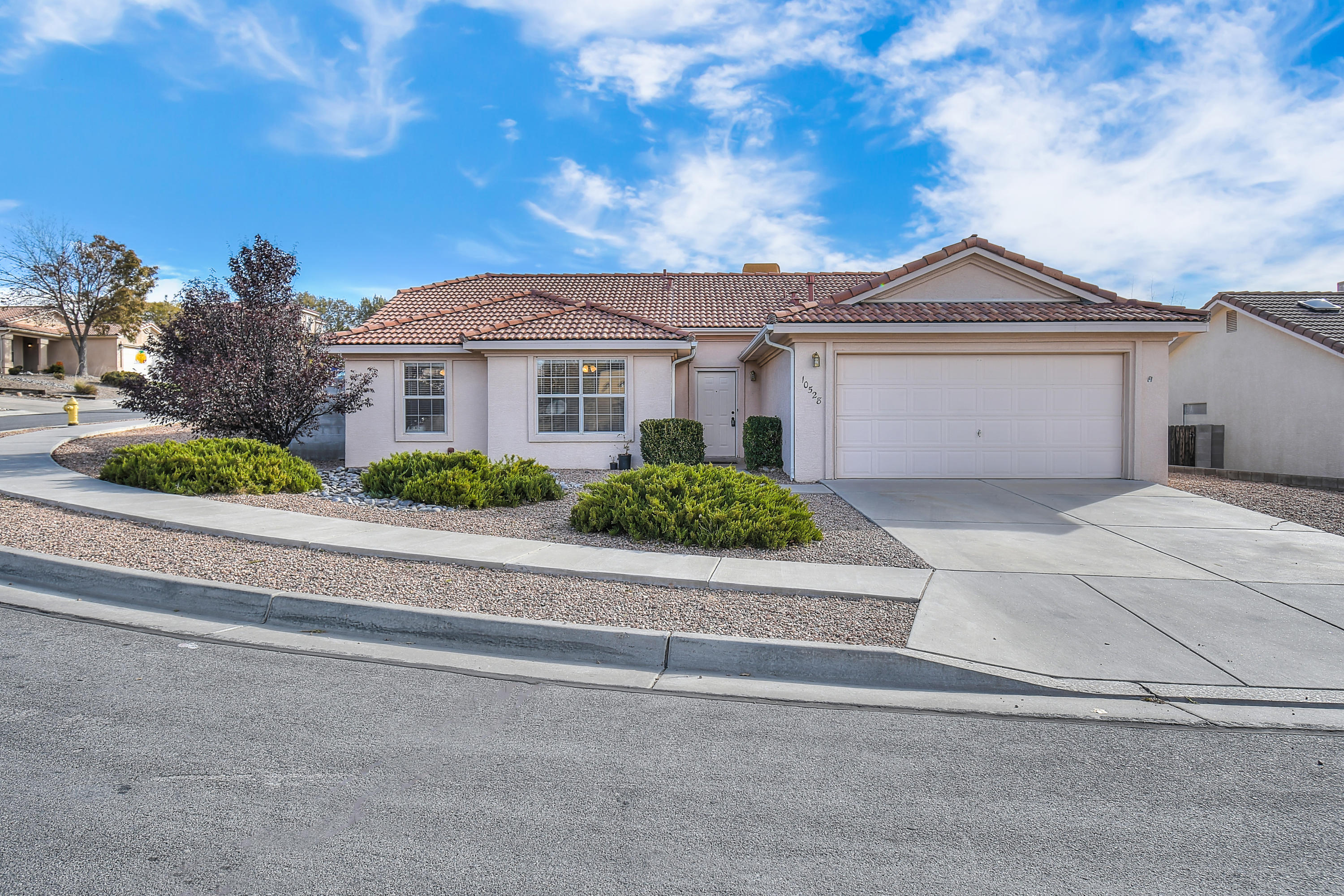 Welcome to Tuscany Subdivision! Wonderful 4 bedroom, 2 full bath, 2 car garage situated on a large corner lot.  Freshly painted, brand new carpet & new blinds throughout.