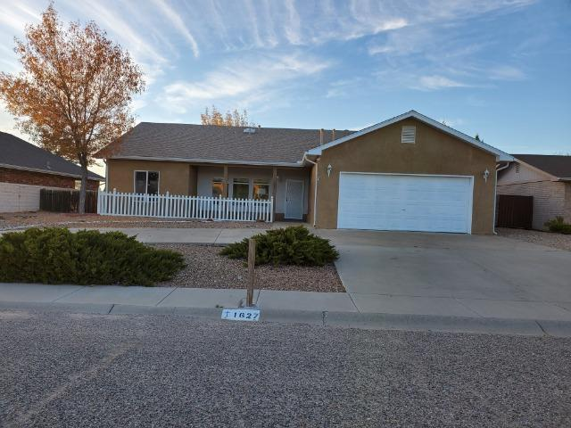 HUD Case #361-387909.  Light and bright 3 bed 2 bath home in Belen.  Ranch living with kitchen, living room with fireplace, beds, and baths all on one level.