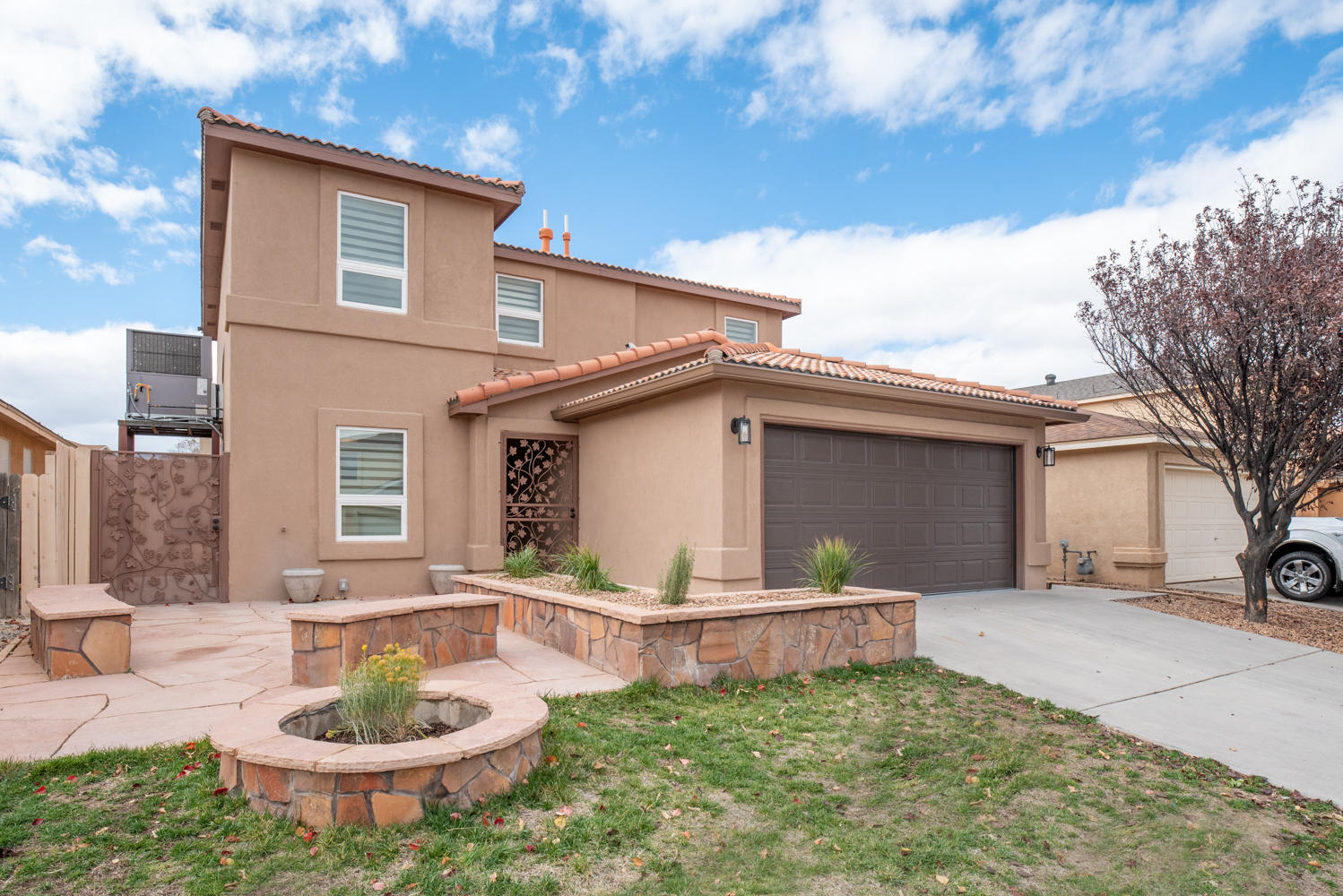 This house is absolutely loaded with amenities! New tile floors, fresh new paint inside and out, brand new cabinets and granite through out, New appliances, outdoor BBQ, New stucco, new fences, just a beautiful move in ready home!