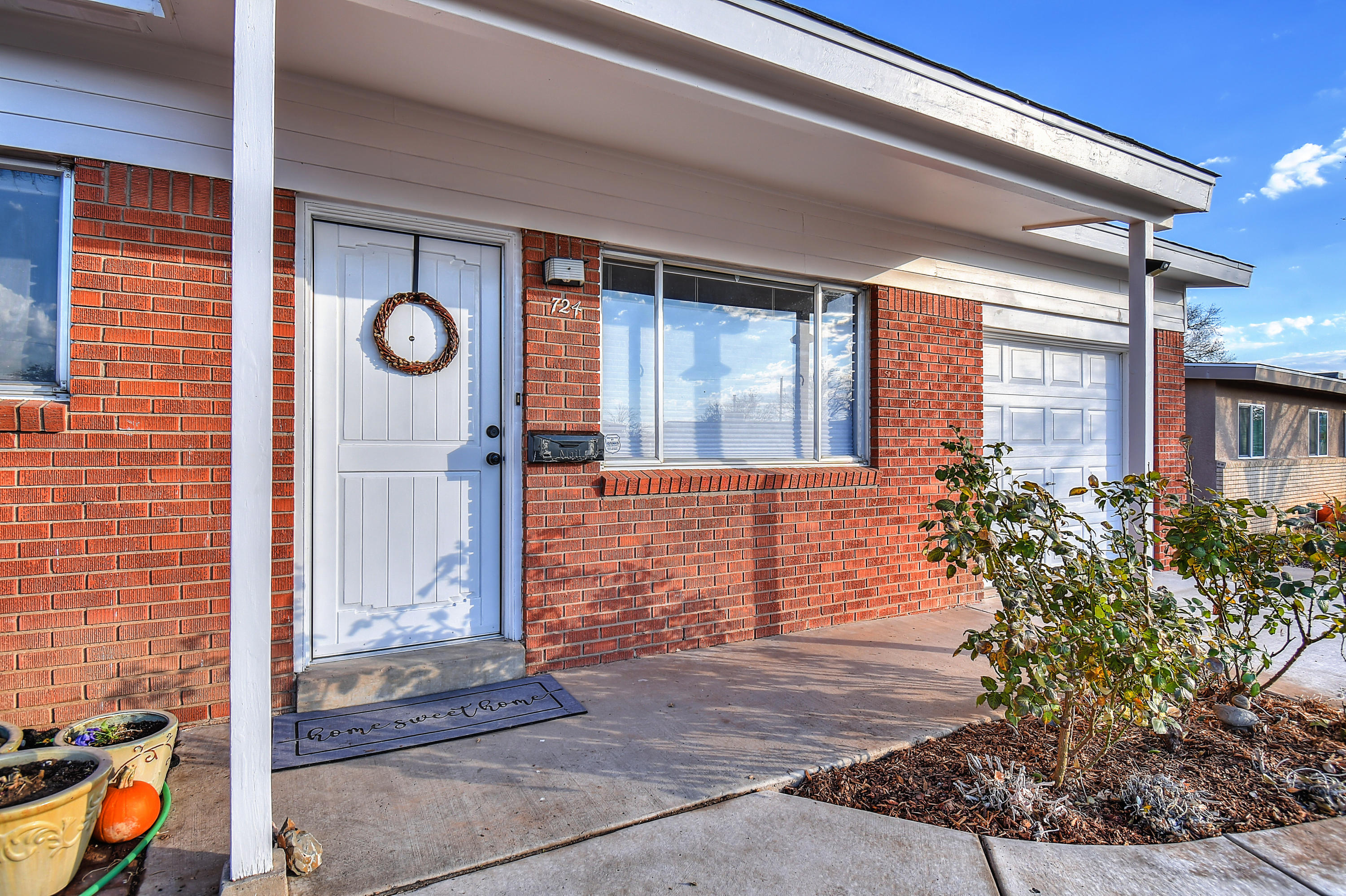 Welcome Home to this adorable single story 3 bed 2 bath home that has a wonderful Zen feel to it...Enter into the cozy living room as you admire the stained concrete floors...NO CARPET.  Cute kitchen that overlooks the spacious back yard for all of your gardening and relaxing needs. 400 foot flower garden! This one won't last long so schedule your showing TODAY!Abide by all of the COVID rules.Professional Photos coming today!