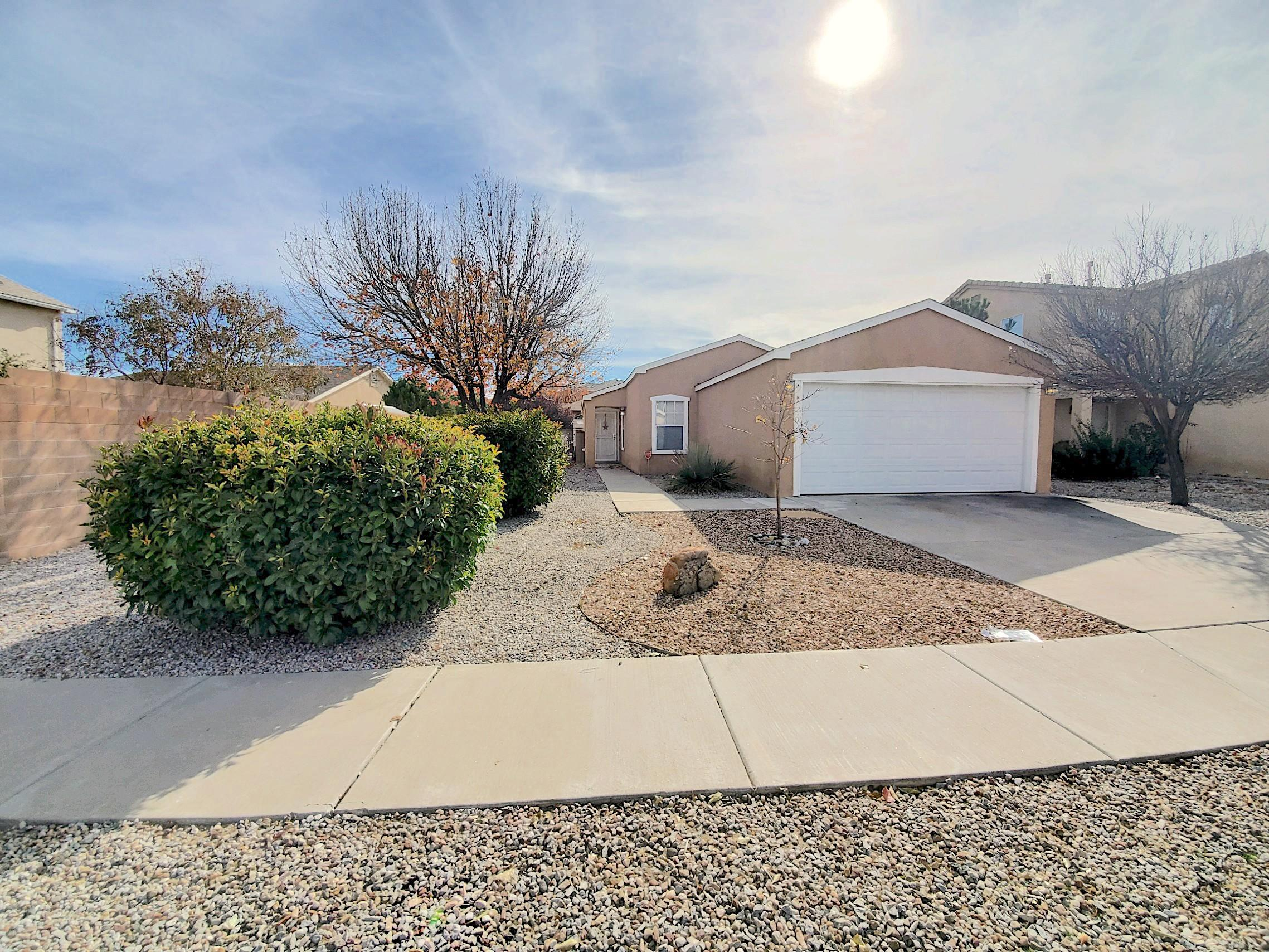 Cute home with an open floorplan. Separate office through double doors, and a refreshed backyard.
