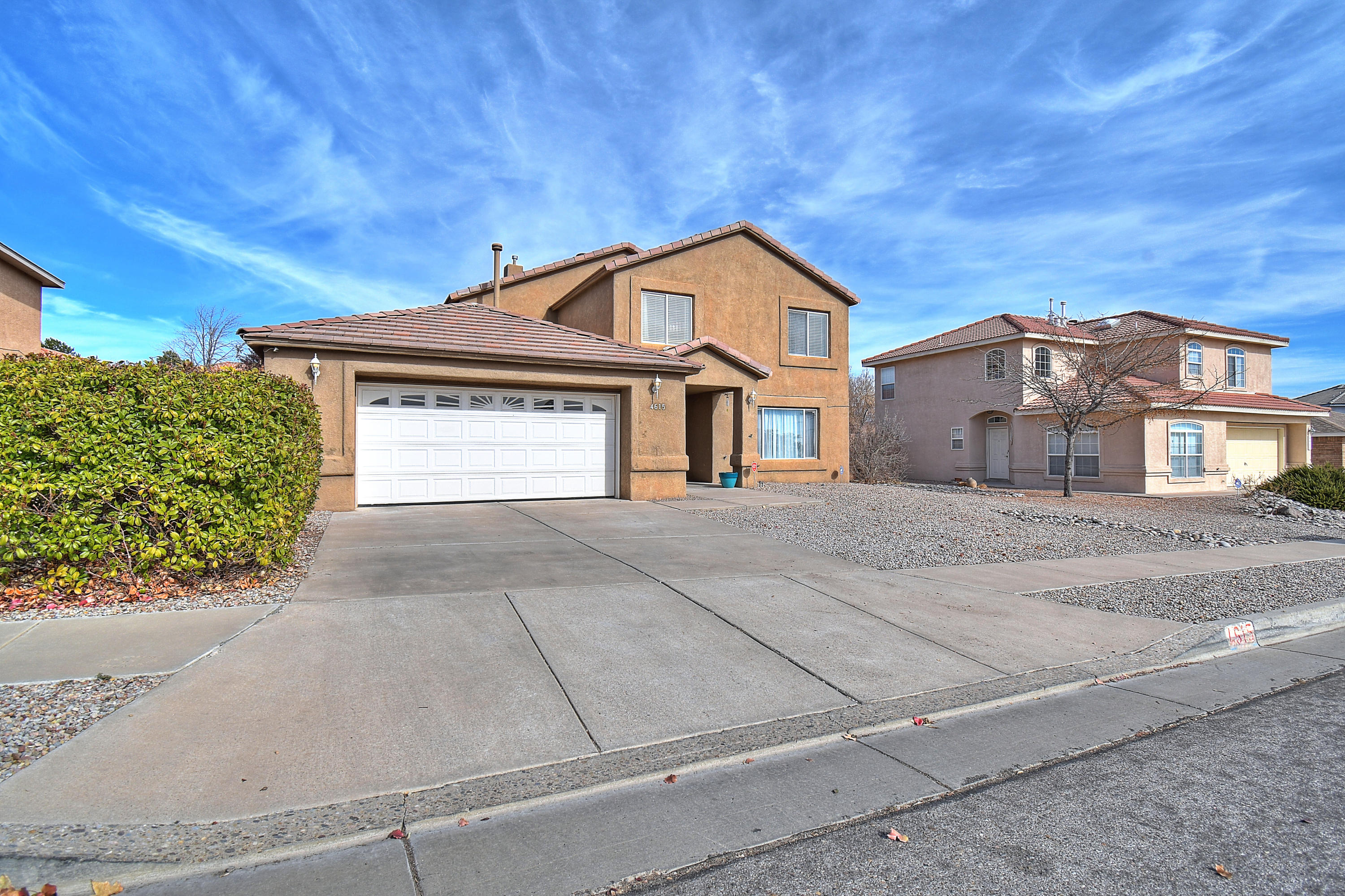Come make this beautifully appointed home yours!As you enter you will immediately amazed by this meticulously kept home. The home features an open concept kitchen with stainless steal appliances leading into a large living room with vaulted ceilings that is perfect for entertaining guest. Your new home also comes complete with newly updated bathrooms and new flooring. Enjoy the additional space in your second living room perfect for get togethers and game day. Upstairs you will find a large master bedroom with an oversized bathroom  and balcony. Down the hall are two additional bedrooms overlooking the living room.
