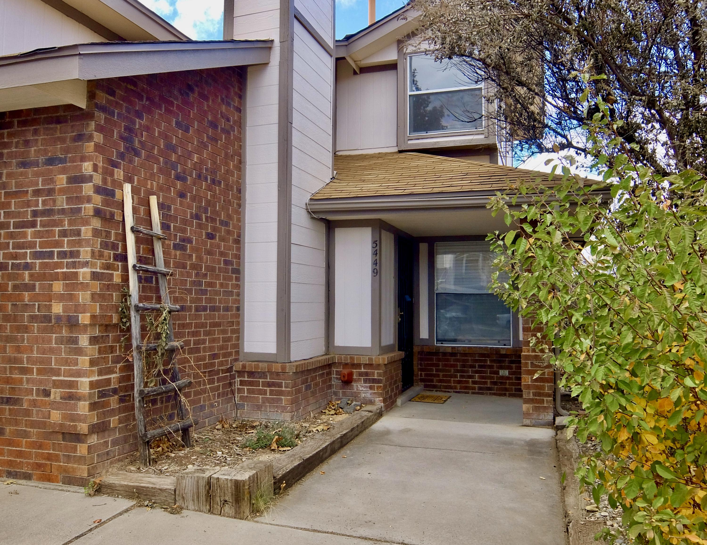 Sweet townhouse in Northwest Heights.  2 bedroom and 2 full baths plus a small loft space at the top of the stairs that would be a great space for an office.  All new paint inside and out as well as new doors and hardware.  The back yard has tons of potential.  Go take a look today.