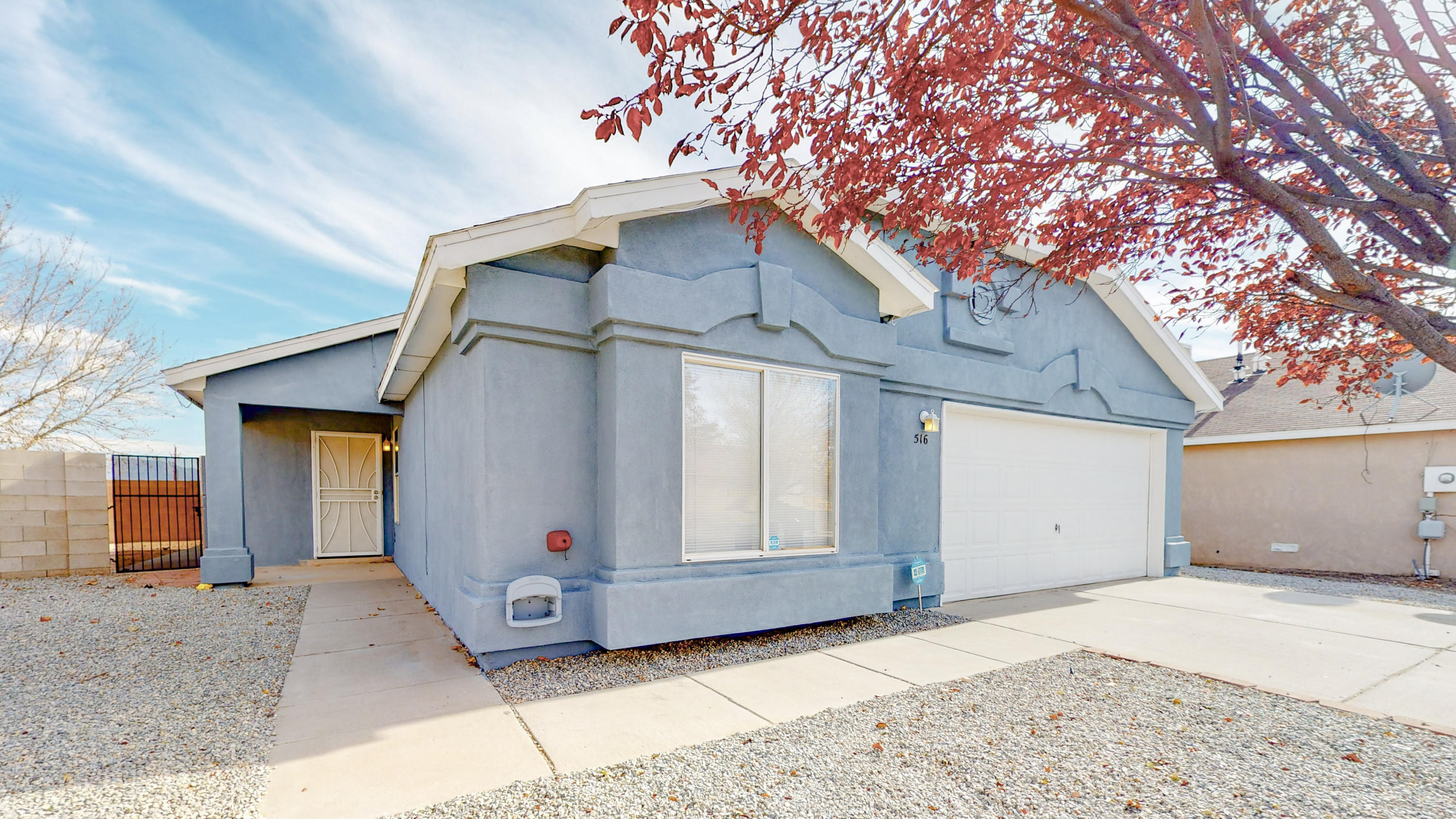 3 bedroom, 2 bath,  2 car garage, Home is turn key ready for new buyer. Open floor plan, raised ceilings, ceiling fans, laundry room, Tile floors, No carpet. Fresh paint throughout, including Exterior.  1 block from park.  Home will not last long