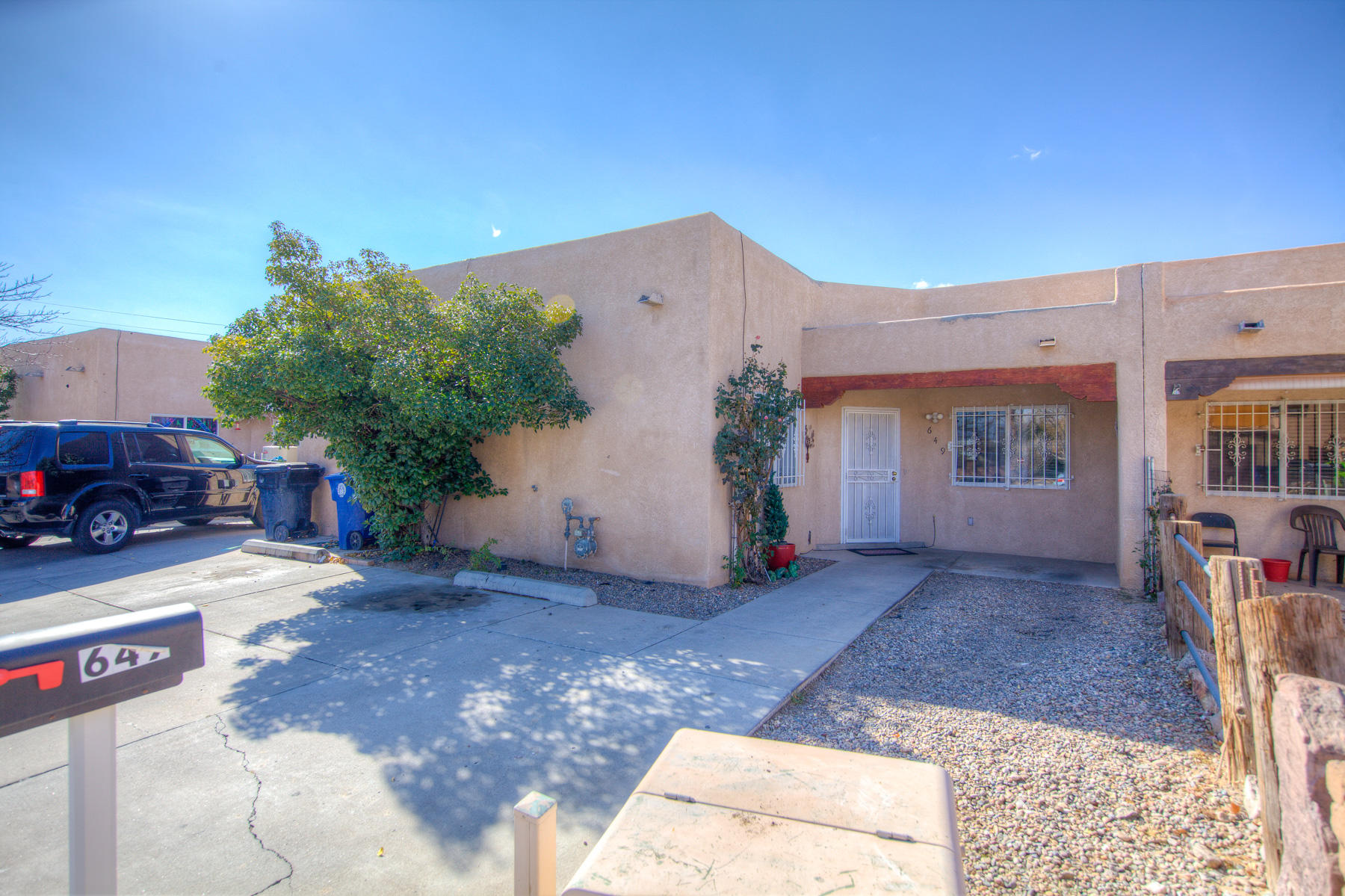 Welcome to this 3 bedroom 1 and 3/4 bath home. Tile and Laminate throughout, No Carpet! Plenty of cabinet space in the kitchen, storage shed in the backyard. Come see today!