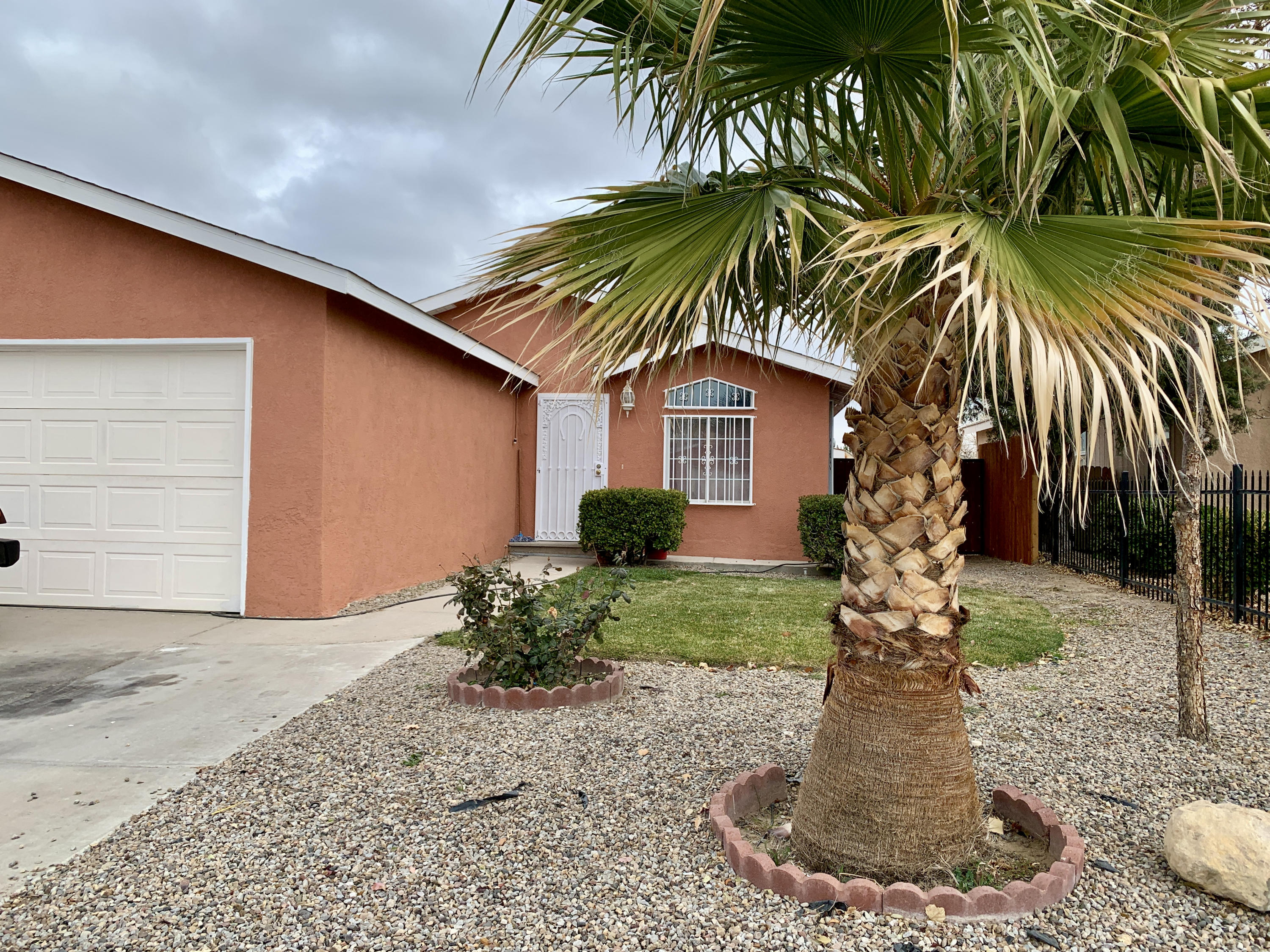 Move in ready Home, 3 bed 2 bath 2 car garage.fresh paint, new door, security bars for added safety. Grass landscaping in the front and back yard. New gate and fence panels.  Virtual tour available online as well as high quality pictures. Priced to sell.