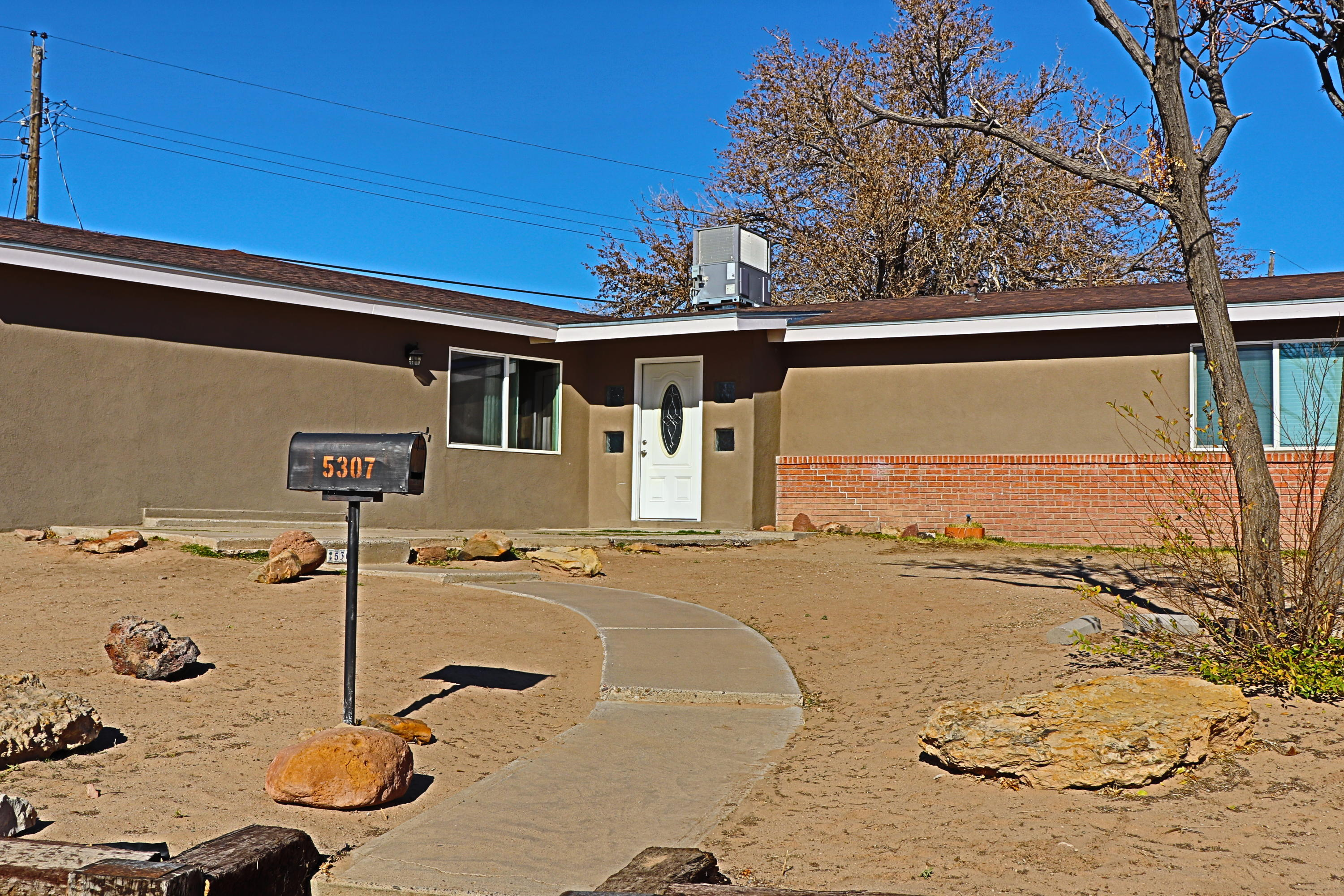 Great area of town & so close to everything.  . . Old Town, Interstate 40, downtown and a soon to open Dutch Brothers that is within walking distance. This 3 bedroom 2 bath home is a  recent remodel with granite in kitchen, tile floors, double-pane energy efficient windows & refrigerated air.