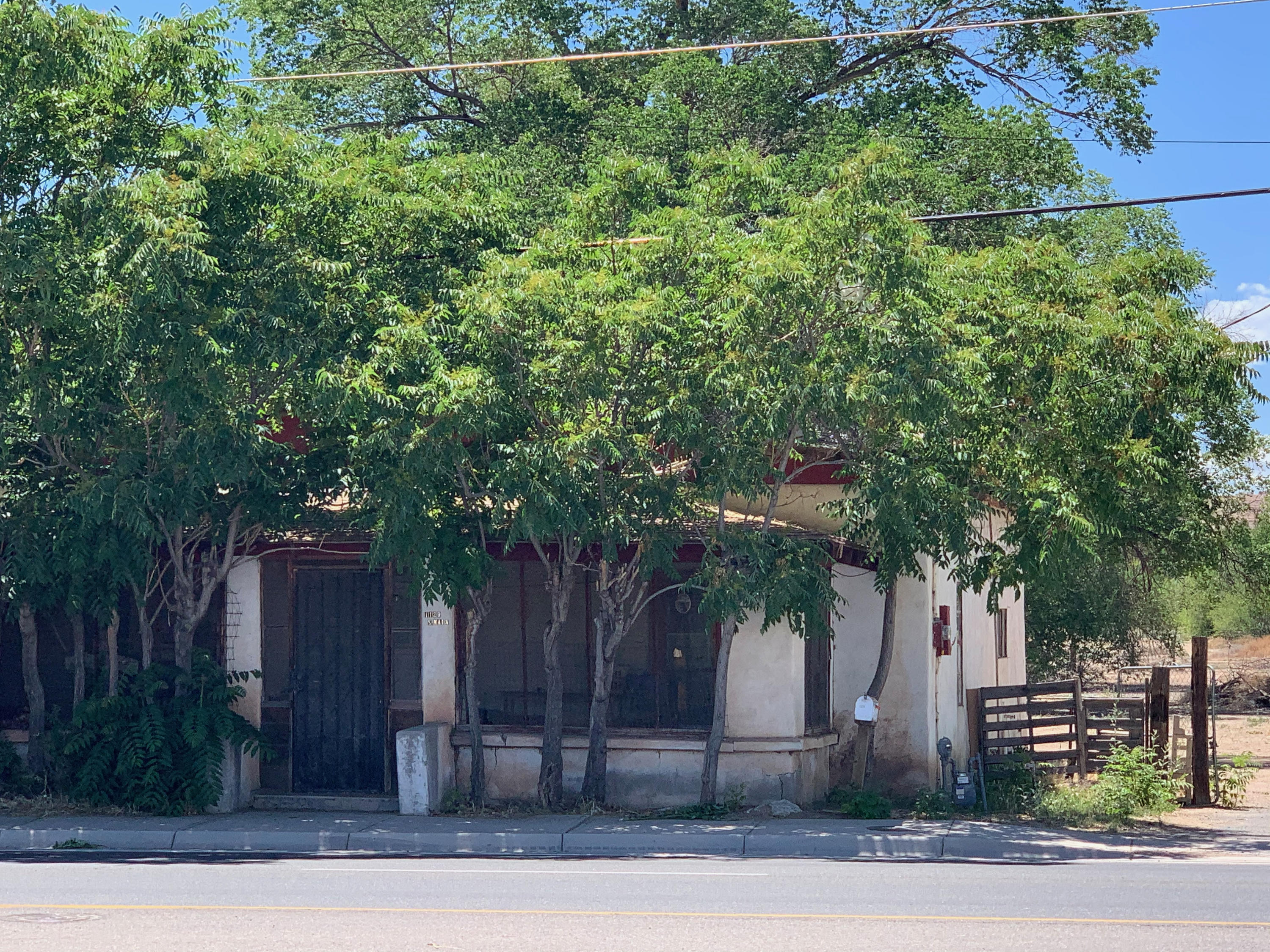 This home located on Main Street in Belen offers unlimited potential. It's zoned Residential or Commercial and with the 3.59 acres the possibilities are endless. The home is a handyman's dream. Schedule your visit today.