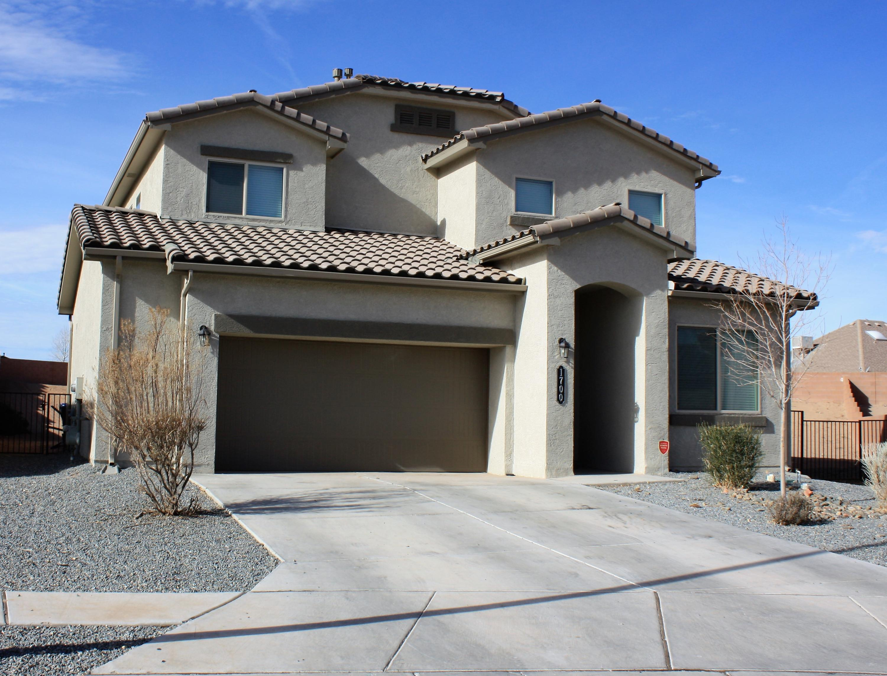 This immaculate well taken care of Rose floorplan shows like a model.  The home is situated on a huge lot that is a third of an acre.  This home boasts a master suite on the first floor and a junior master on the second.  The kitchen has granite counters and open to the living room which has a massive 18ft ceiling.  The laundry room has been expanded and has access from the master as well.  The office is situated in the front of the house where working from home would allow you a nice calm space.  The second floor opens to a big loft and three bedrooms.  The backyard is so big a pool and master garden would be nice additions.