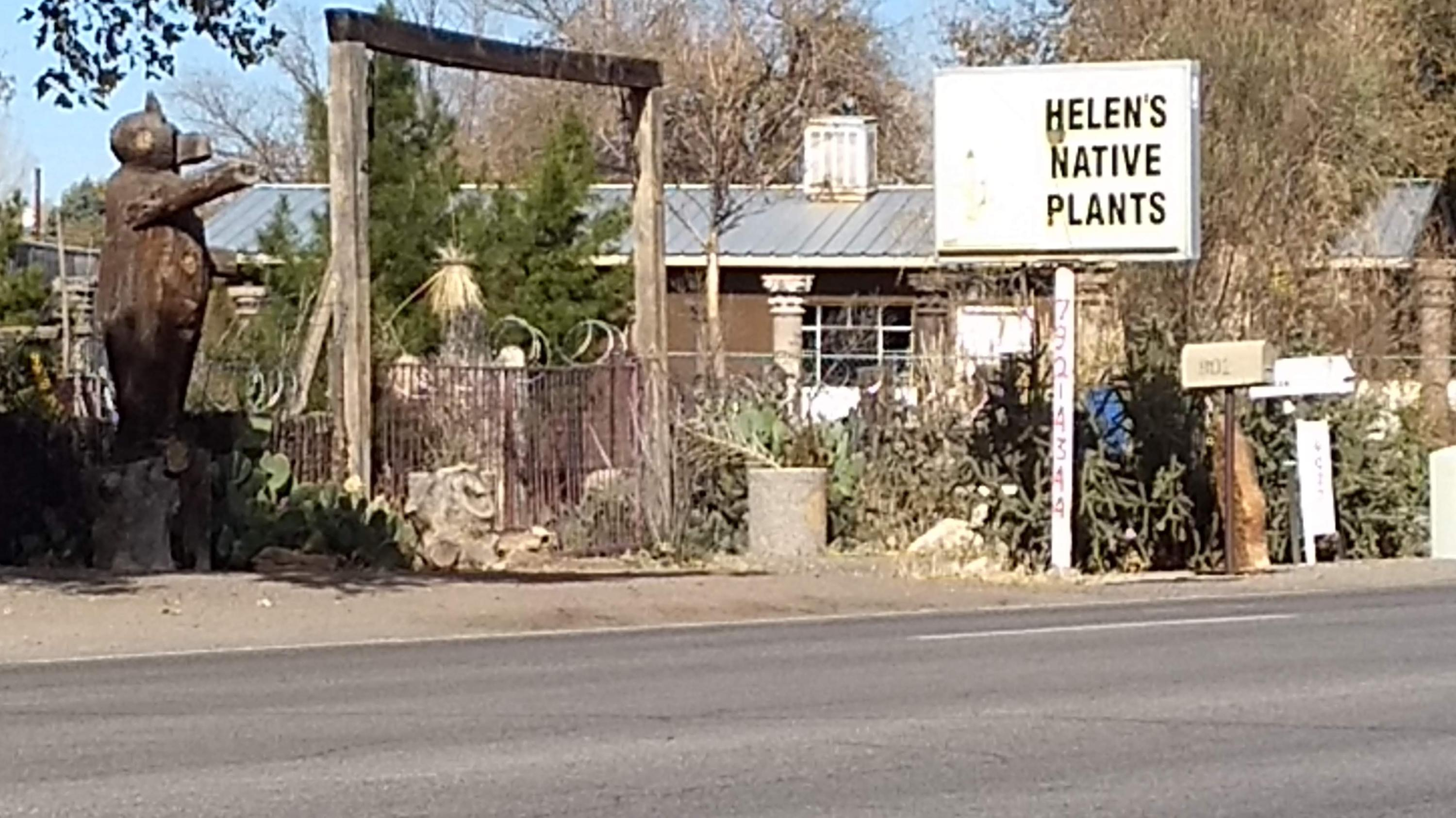 Helens Native Plants  Lot is 80 x 300 Prefab and mobile can convey or be removed.Wonderful North Valley location to live and or run a business zoned Residential and C 1