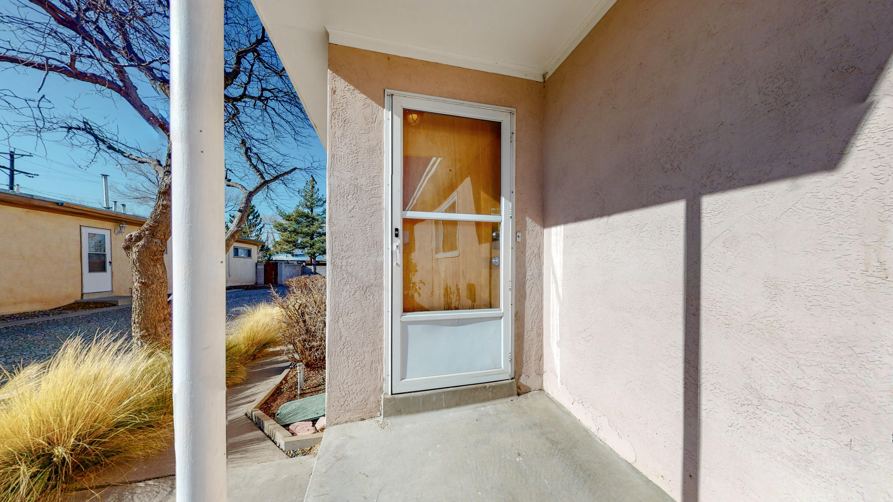 1805 & 1807 Alvarado. Great opportunity to live in one and rent the other, or rent them both for approx $1,950! Owner's unit is remodeled 3br/2ba and additional unit is remodeled 2br/1ba. New marble counters and wall heaters in Owner's unit. Newer roof. Refinished wood floors and new water heaters in both units. BOTH UNITS IN EXCELLENT CONDITION. Large storage shed and double carport attached. Well kept grounds and the entire neighborhood shows pride of ownership. One block from beautiful Alvarado Park, easy walking distance to Starbucks coffee, close to freeway access, and close to shopping and dining in all directions.