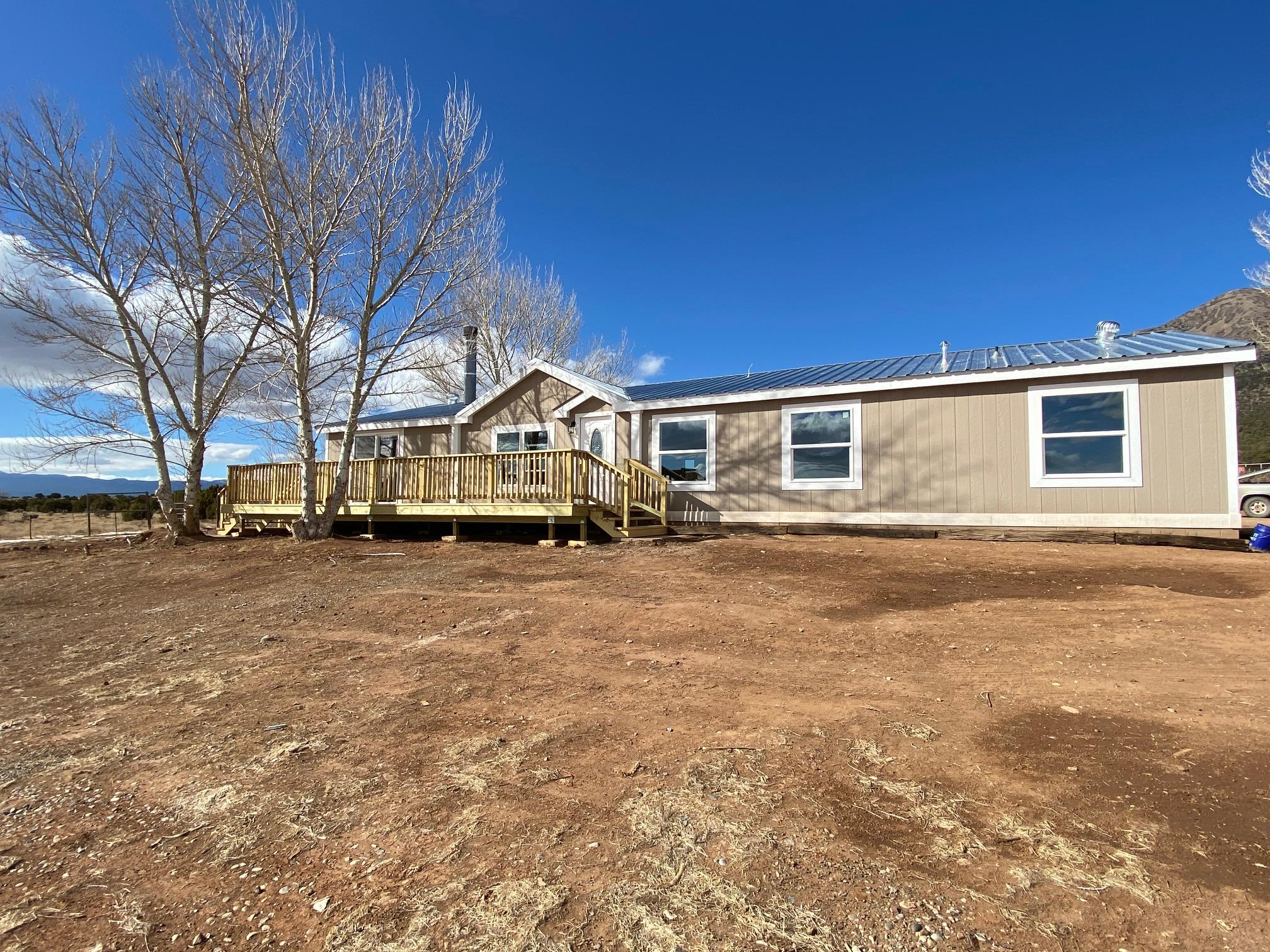 Privacy, views, and 5 bedrooms are featured in this newly remodeled home in North Edgewood.  Over 3 acres of privacy, new septic being installed, private well and Entranosa is one house away.
