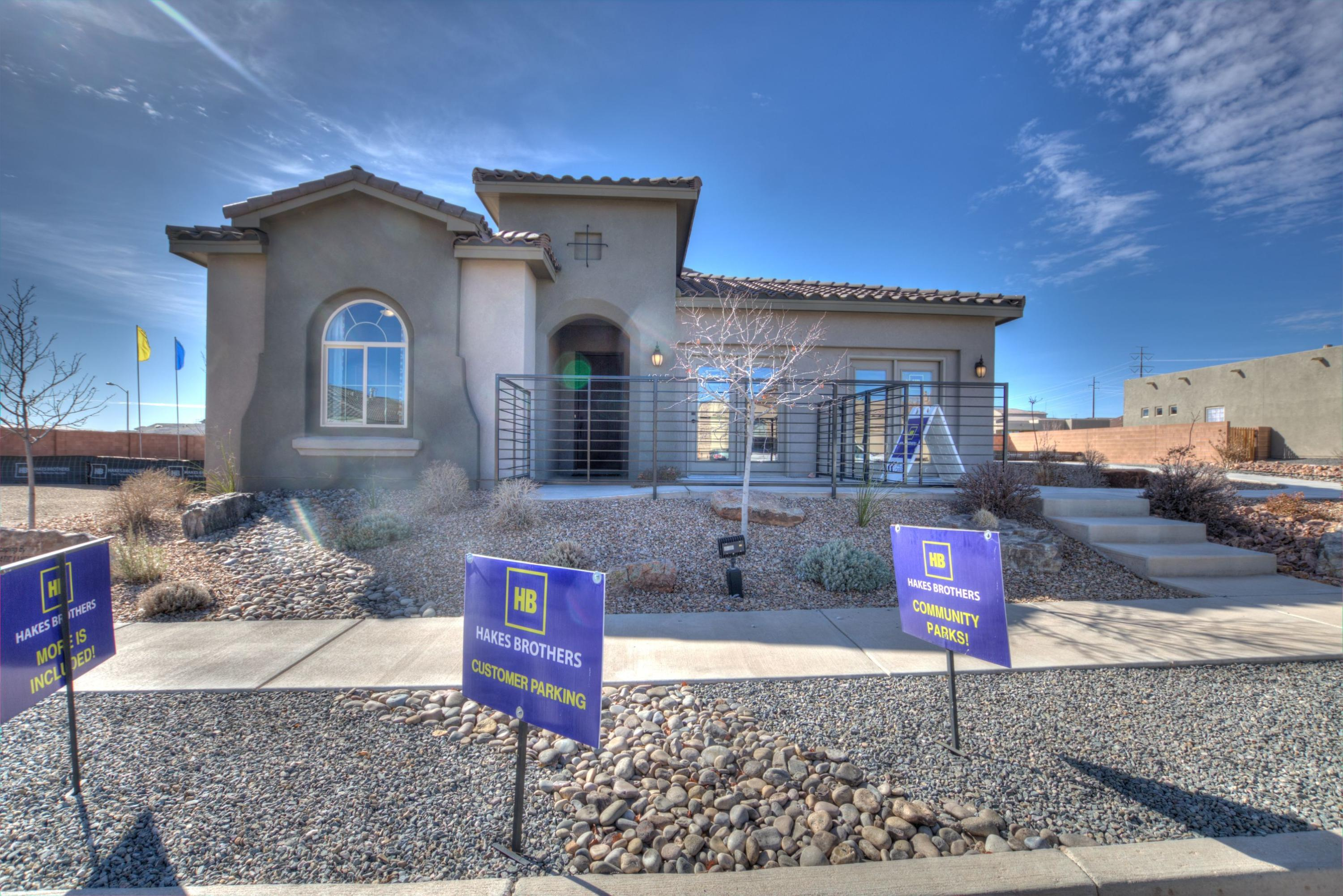 MODEL HOME FOR SALE All the bells and whistles 3 br 2119 sf, 2.5 baths, Gourmet Kitchen, 8' doors, Ceiling beams, 36'' tiled fireplace, and Tiled walkin shower.  2 car garageLeaseback, negotiable; minimum 2 years with our option to continue for another year.Backyard landscaped;