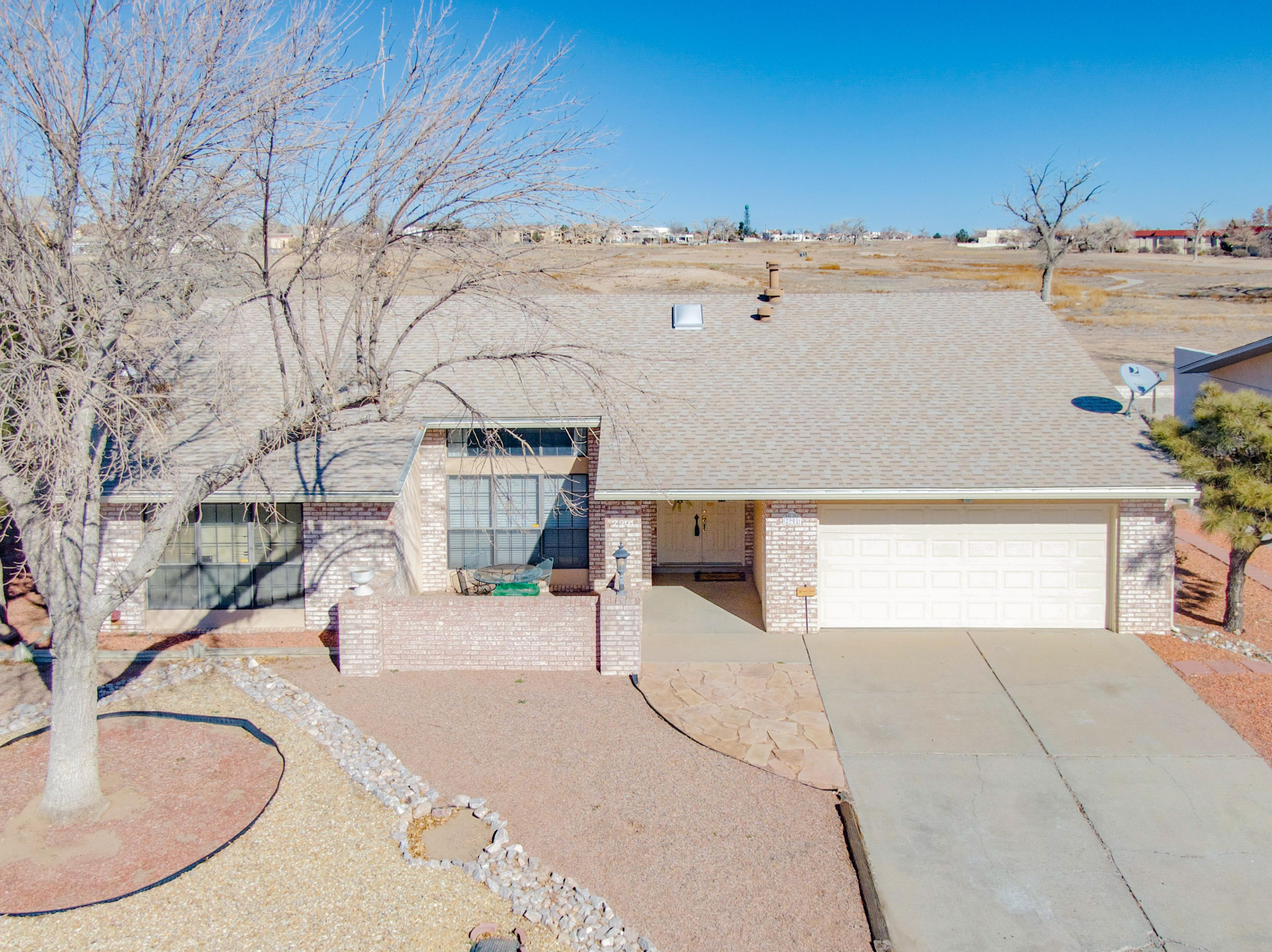 **COVID Safe Open House 01/17/2021 from 12:00 P.M. TO 3:00 pm** This Great Home is centrally located and close to everything, shopping, hospitals, theatre, etc. Front living room has vaulted celling with exposed beams. Second living has a gas Kiva fireplace. Nice kitchen with stainless steel wall oven and microwave. Bay Window In Dining Room has views of the backyard. Good sized Laundry Room. Amazing Owners Suite with electric fireplace. Owners bathroom has jetted tub, long two sink vanity and walk in shower. Huge covered patio with a brick flooring. Replaced Hot Water Heater 08/18, Furnace 08/17, Refrigerated Air 05/18 and Roof 07/18,  Call listing agent or your favorite agent to schedule an appointment.