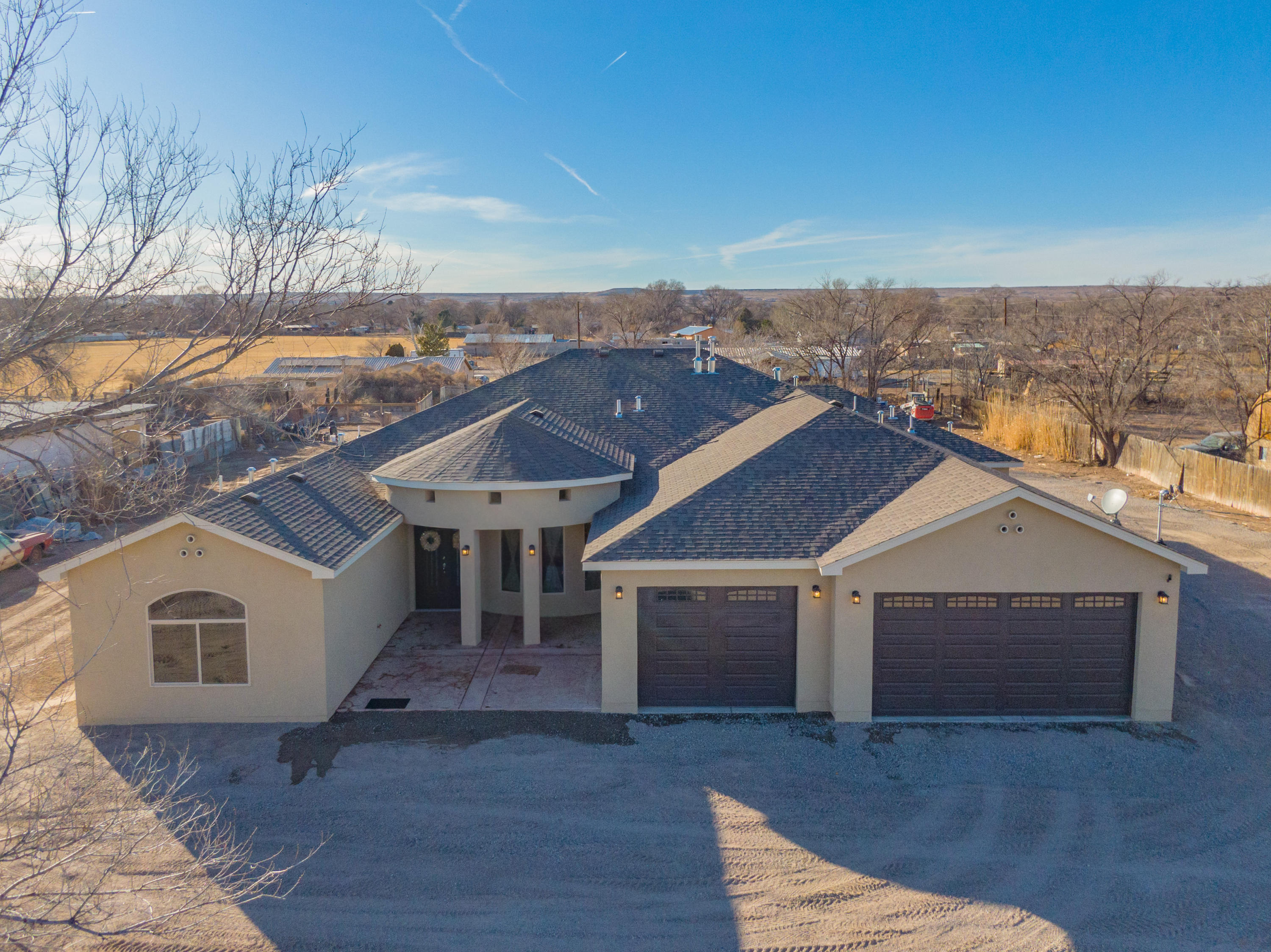 Take a look at this beautiful, thoughtfully-designed custom home. Nestled on a .89 acre Lot. 4 bedrooms, 4 full bathrooms, ''5 car garage'' with access door to the back yard, and another door to a full bathroom. This one year old CUSTOM home has it all, a large open floor plan with superior chef kitchen, granite counter tops, huge center island with seating, stainless steel appliances and breakfast nook. The Master Bedroom and Bath are HUGE with an ample walk-in closet. The Master bathroom has a garden tub with separate shower and his and her sinks. The 2nd Bedroom has its own full bathroom and walk-in closet, The other two bedrooms are generously sized with a jack-and-jill bathroom and walk-in closets. Schedule your visit today!!!