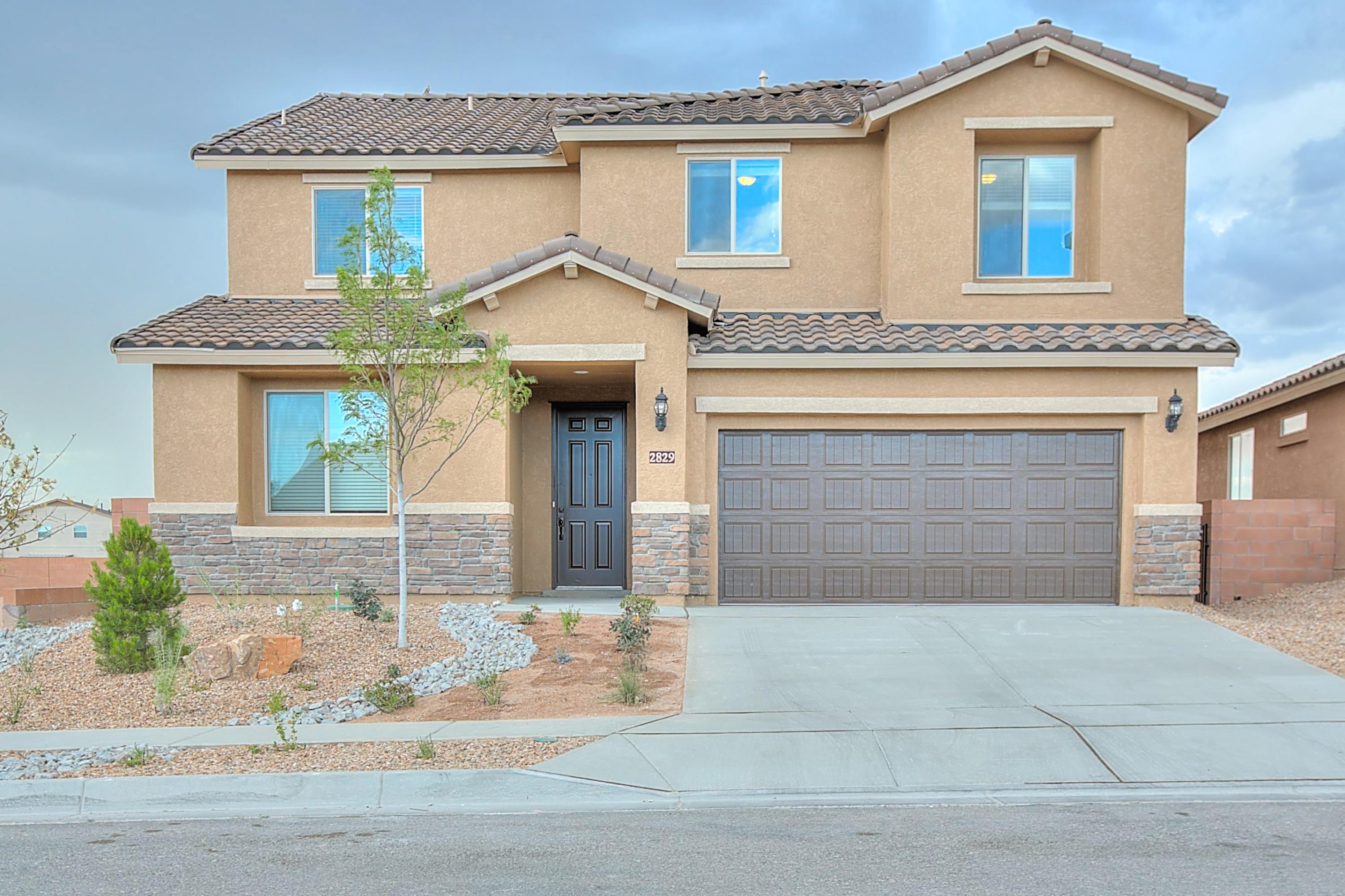 Phenomenal 2-story plan the Fano with soaring ceilings & smart living spaces.  Relaxing Owner's suite with a beautiful Large Tiled shower with seat & huge walk-in closet. Loads of living space upstairs.  Build Green Certified.  Fabulous Warranty!  Completion July 2021. Brand new, never lived in Pulte home. Enjoy brand new appliances, new carpet, new A/C, new tank-less hot water heater, and so much more!