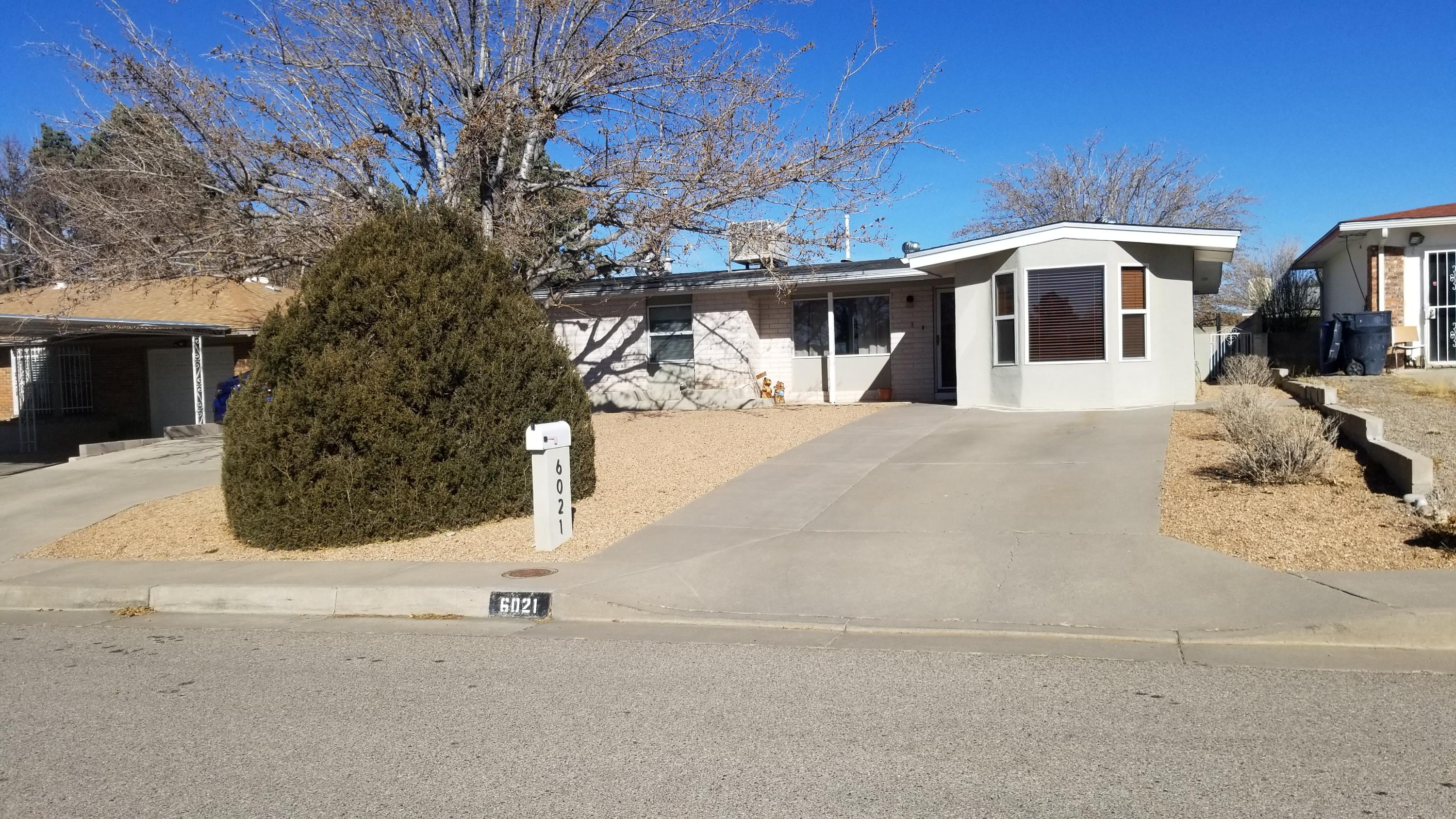 Well cared for home!  Home had been fully remodeled when it was purchased in 2014 and the owners have taken great care.  Home has 2 livind areas.  Great kitchen!  Nice updates in both bathrooms a wood burning stove and a great back yard with covered patio and 2 sheds!