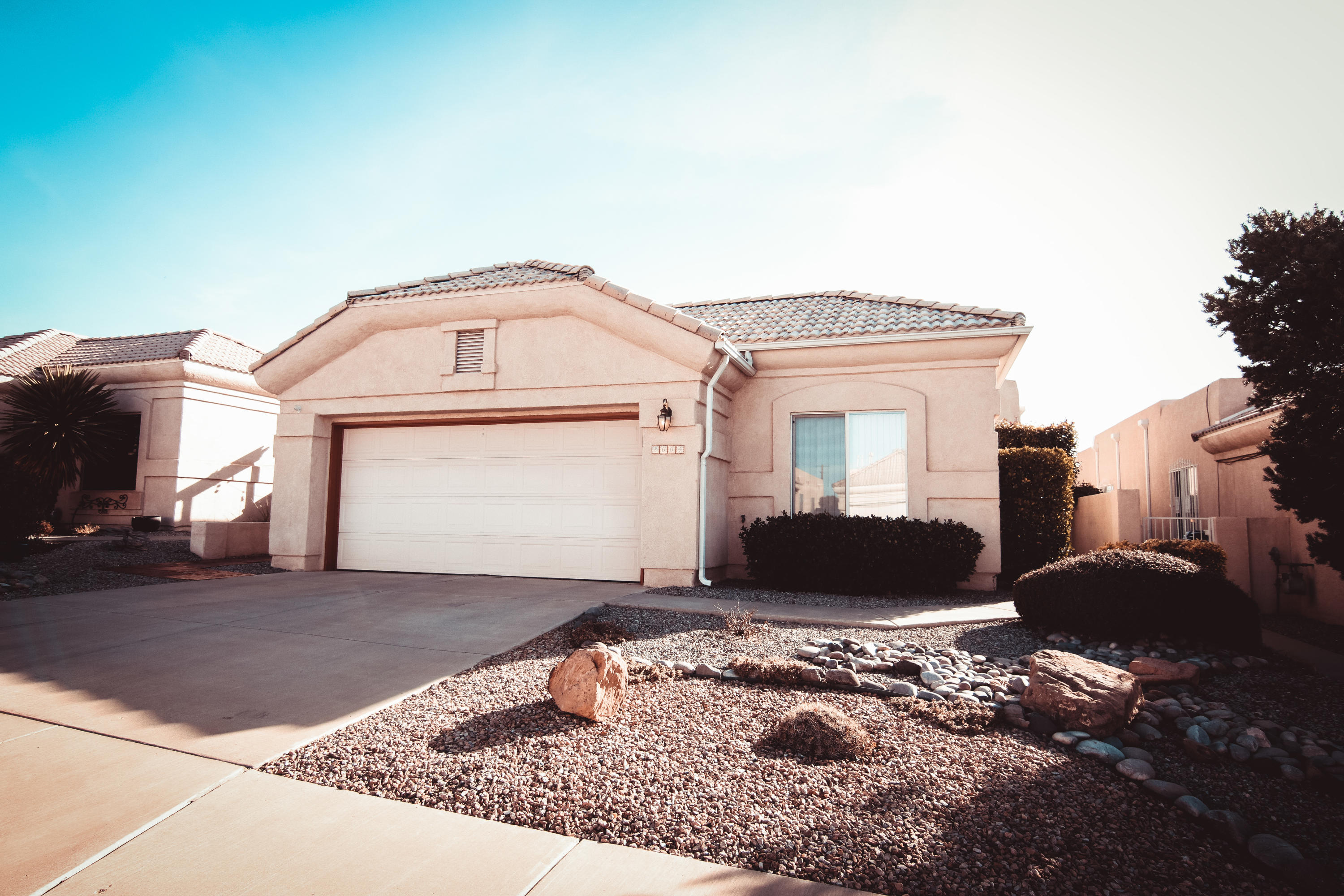 This one owner, immaculately cared for home is in such pristine condition in the La Cueva High School district! Walk into the open floorpan with plenty of natural light. The home features 3 Bedrooms and 2 Bathrooms. Tons of storage to include a large, lighted and attic. The walled & private backyard is a true paradise! The large covered patio looks incredible and looks over the beautiful landscaped yard. You will never want to leave this yard!  A one of a kind home!