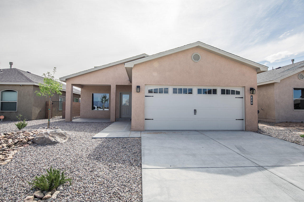 Welcome to the Karoo floor plan located in the Desert Sky community of Huning Ranch. The country kitchen features lots of counter space, cabinet storage and a large pantry. The master suite is on the main floor. Master bath features a separate garden tub and shower with tile surrounds, double sinks with granite counter top. Plenty of space in the walk in closet. Enjoy the cozy gas log fireplace in the spacious living area. Upstairs you'll find two sizable bedrooms with Jack and Jill bathroom. Entertain under the back covered patio. Make an appointment to view this wonderful home today!.