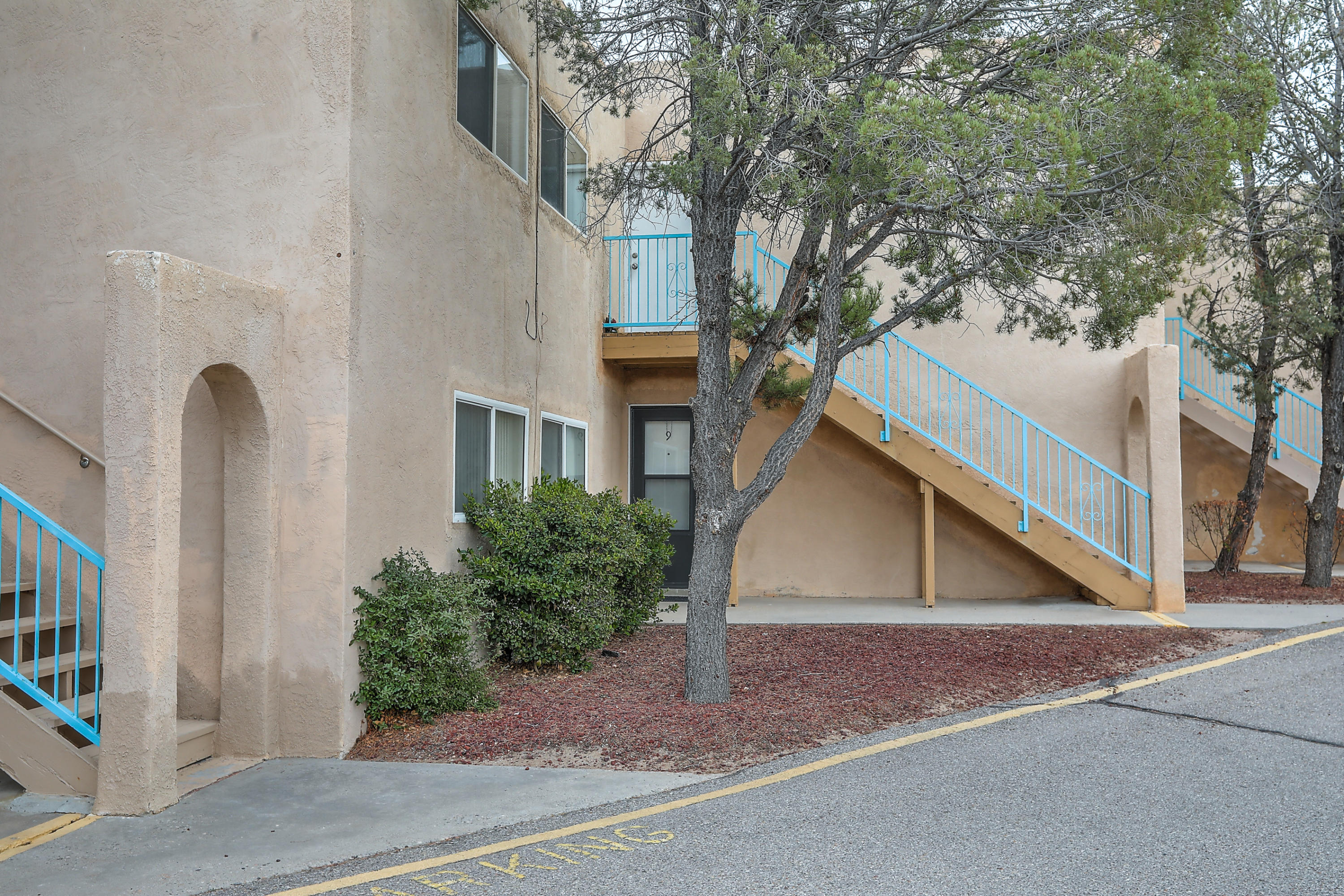 Wonderful opportunity for a condo located in a golf course community - the classic Paradise Hills Country Club area.  The unit is single story, downstairs unit that opens to the common area.  The parking for this unit is located directly across from the unit, and includes a storage closet.  2 spacious bedrooms, with 2 baths.  The newly installed flooring is featured.  Refrigerated air, clean kitchen with serving area, dining area.  The wall of windows open to the covered patio area.  The HOA pays some utilities and common areas.Call your REALTOR today!