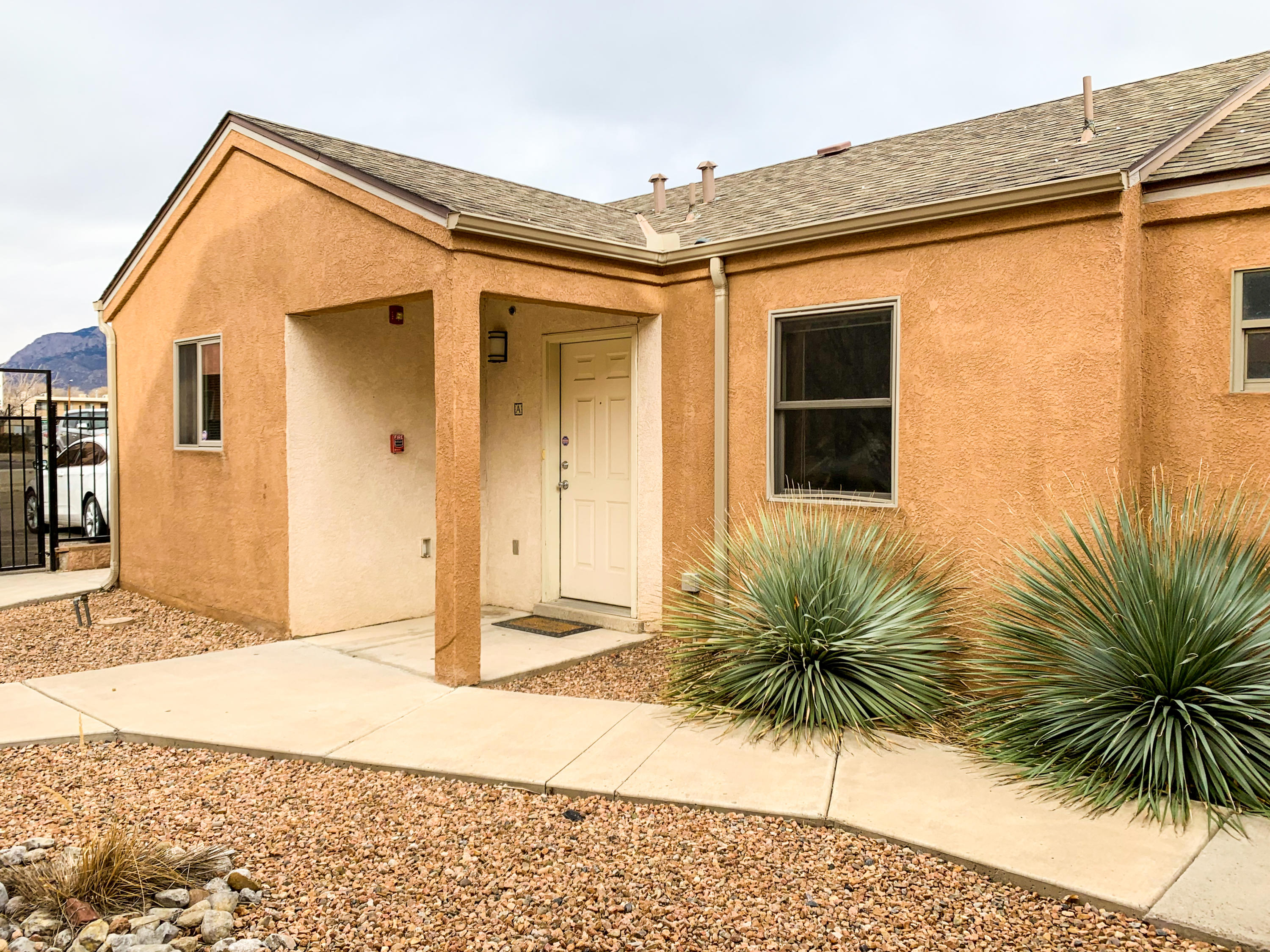 Built in 2007, owner added upgrades such as granite counter tops and title back splashes. Hardwood flooring, being repainted, new refrigerator, micro wave.  Great corner unit, with view of the Sendia's.