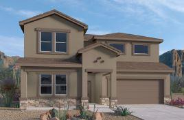 LIMITED TIME PROMO: Receive UPTO $7,000 Flex Cash PLUS up to $5,000 towards closing cost! BRAND NEW FLOORPLAN in the Volterra IV community in SE ABQ! This never lived-in home is CURRENTLY BEING BUILT on the LARGEST CORNER LOT of the subdivision! Our incredible 2-story ''Olivia'' model offers a spacious open kitchen / living area. Besides plenty of standard features like granite kitchen countertop and tile flooring, the BUILT-IN CHEF'S KITCHEN and FRAMELESS HEAVY GLASS WALK IN SHOWER / GARDEN TUB COMBO will make your home your OWN! 8 FOOT DOORS FRONT AND REAR!! Spacious primary bedroom is on the main floor. The upstairs loft provides plenty of windows resulting in a bright secondary living space. A gas stub at the outdoor covered patio will ensure a stress-free family bbq...
