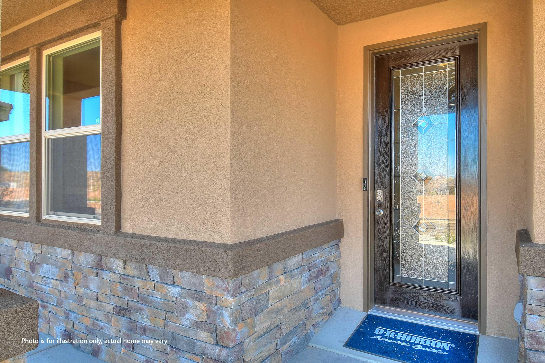 LIMITED TIME PROMO: Receive UPTO $7,000 Flex Cash PLUS up to $5,000 towards closing cost! BRAND NEW FLOORPLAN in the Volterra IV community in SE ABQ! This never lived-in home is CURRENTLY BEING BUILT on the LARGEST CORNER LOT of the subdivision! Our incredible 2-story ''Olivia'' model offers a spacious open kitchen / living area. Besides plenty of standard features like granite kitchen countertop and tile flooring, FIRE PLACE, the BUILT-IN CHEF'S KITCHEN and FRAMELESS HEAVY GLASS WALK IN SHOWER / GARDEN TUB COMBO will make your home your OWN! Spacious primary bedroom is on the main floor. The upstairs loft provides plenty of windows resulting in a bright secondary living space. A gas stub at the outdoor covered patio will ensure a stress-free family bbq...