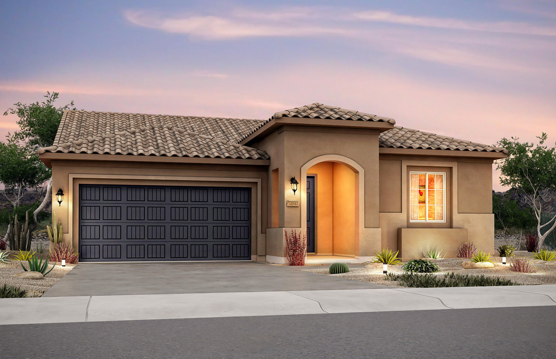 Preserve floorplan in premier 55+ active adult gated community. Amenities include a junior Olympic size pool, spa, fitness, sports courts, trails & more!  Home features include a den, tile shower, chef kitchen, quartz counters, wood looking tile floors, interior fireplace and so much more!