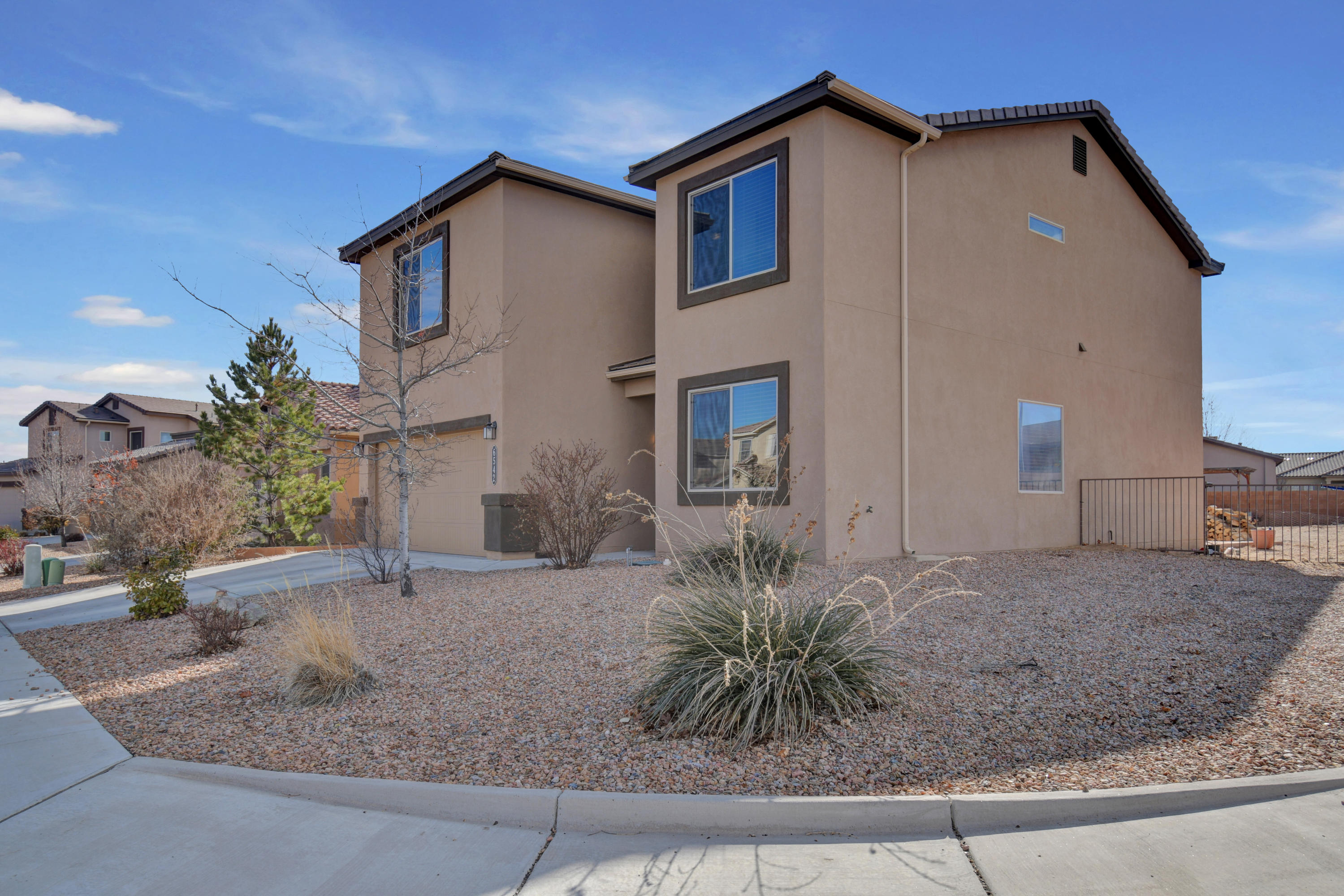 Come check out this great one owner, well cared for home in the Anasazi Ridge neighborhood! Two living spaces, including a large family room as well as a loft on the second floor. Open kitchen plan with an eat in kitchen and separate dining area. 4 good sized bedrooms upstairs and an office on the main floor. Enjoy natural lighting throughout the house and low-e windows. This home sits on a larger corner lot with loads of potential and a back yard access point. Groundwork has been started for a pergola on the back patio. Located close to shopping and restaurants and easy access into Albuquerque from the west side. Don't miss out! Schedule your private showing today!