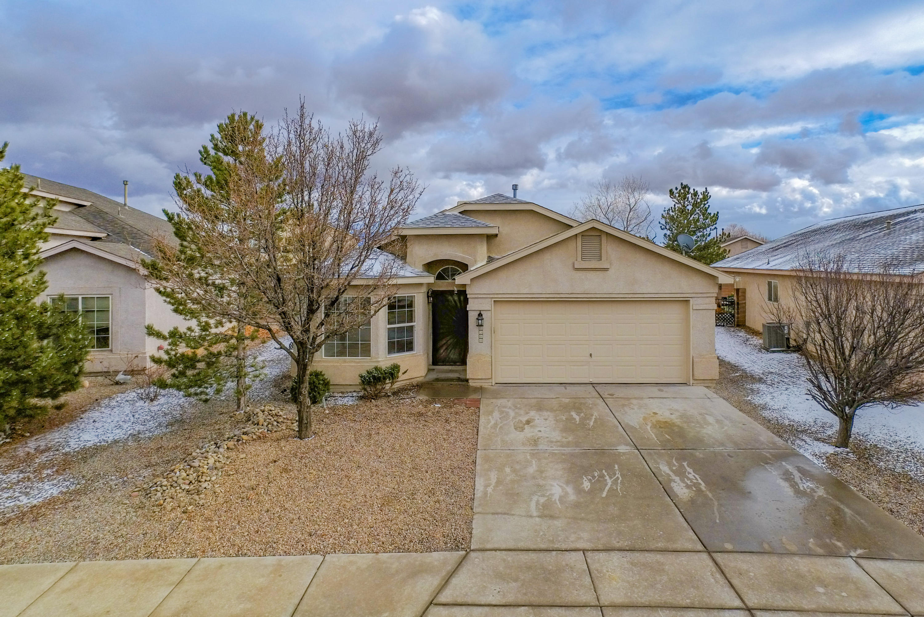 Lovely Home in the desirable Ventana Ranch area! It has 4 to 5 bedrooms. The 2nd living area has French doors and a closet added that can also be a large fifth bedroom. The master suite is spacious with a full bath to include a garden tub and walk in closet. There are three other bedrooms to meet all of your needs. The kitchen is open to the family room with an island, a breakfast nook and a large pantry. All of the kitchen appliances stay. The spacious back yard has a covered patio, and a surrounding brick wall to meet all of your entertaining needs. The roof was redone in November of 2020 and has a warranty. The home has been freshly painted in January of 2021. This home is ready for it's new owners! Schedule an appointment today.