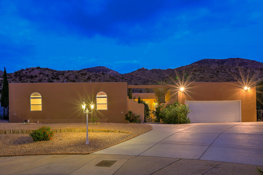 Peaceful Retreat backs to Foothills Open Space Privacy! Space Views. DEER and Nature ! Great Home 3572sf. Main floor & 2250 sf basement. Formal Dining room open to Great room w/ fireplace. Remodeled Gourmet Kitchen w/ updated granite counters, quality appliances, updated cabinets, lighting & flooring. Family Rm with Fireplace. Sep Main Floor MBR+ w fireplace (8 BRs possible or 5 BRs 2 office & hobby room). Wide easy access stairs leads to a living area basement (2250 SF) with bedrooms, bath, office/play room ... a great family fun potential - Ready for you personal touch. Rare Find. Easy maintenance lot with covered entertainers patio overlooking open space & Foothills. Peaceful Retreat! Updates include wood type flooring, granite counters, updated cabinets lighting more. 2 Ref AC & 1 Evap